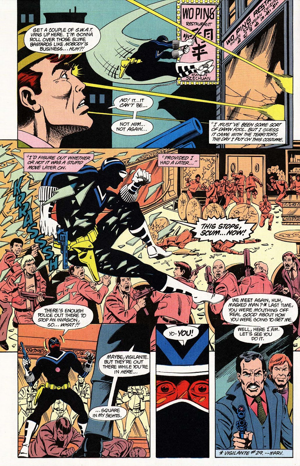 Vigilante (1983) issue 31 - Page 28