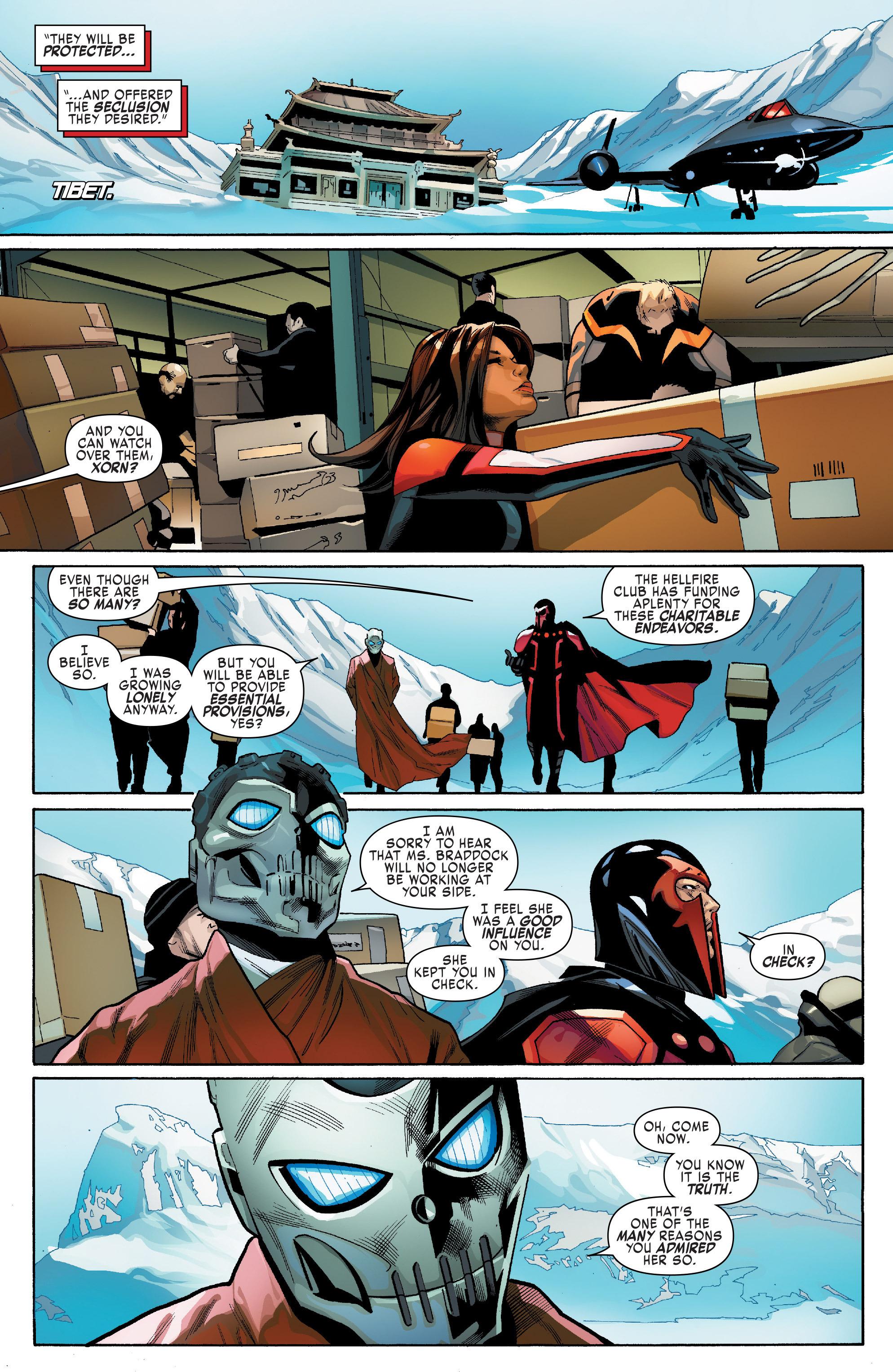 Read online Uncanny X-Men (2016) comic -  Issue #14 - 19