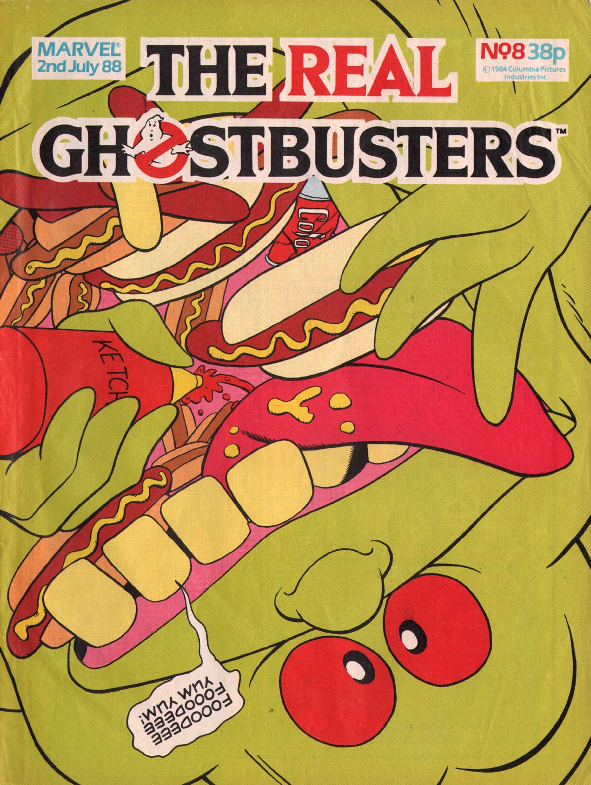 The Real Ghostbusters 8 Page 1