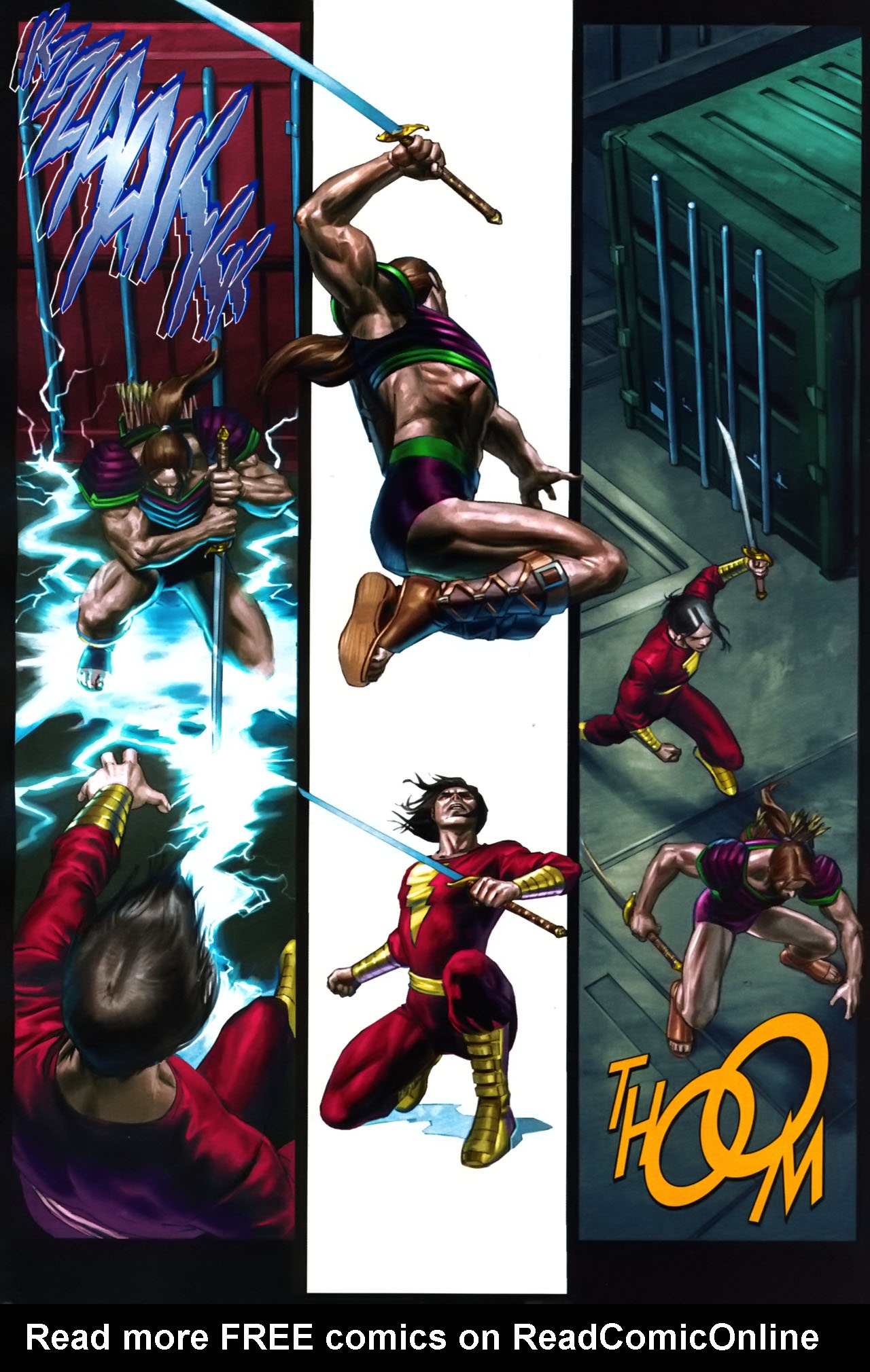 Read online Trials of Shazam comic -  Issue #9 - 13