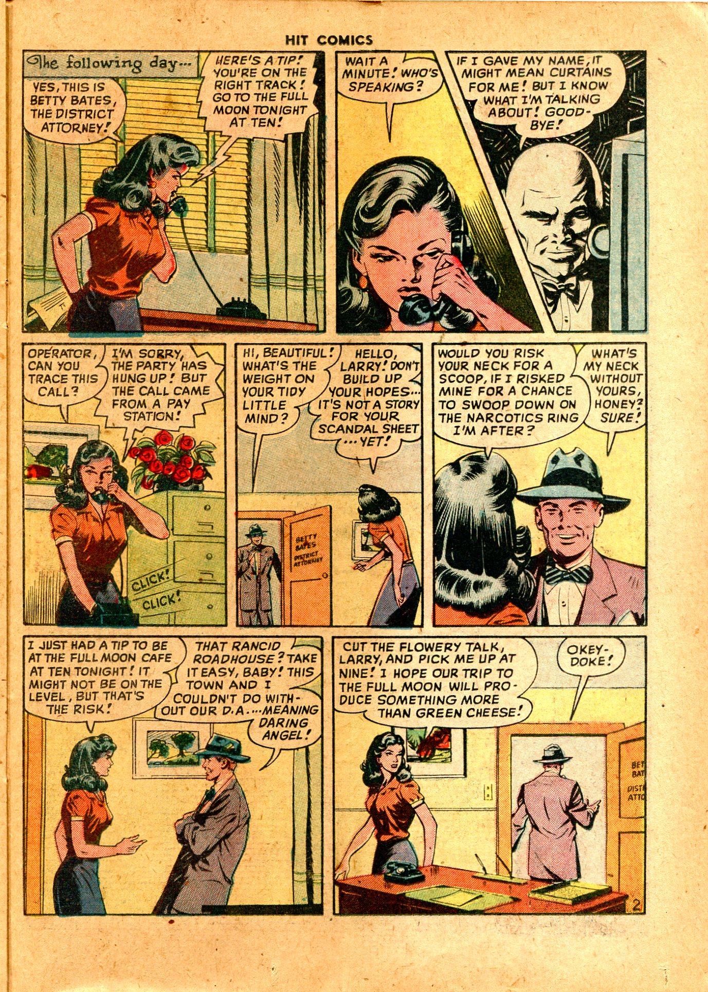 Read online Hit Comics comic -  Issue #57 - 33
