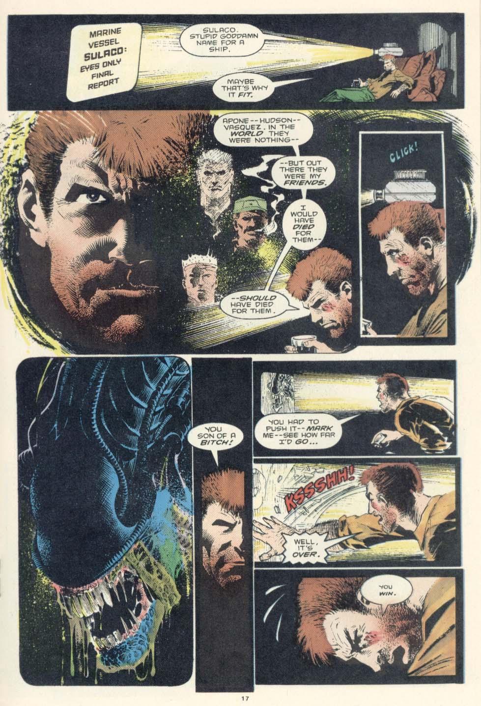 Read online Aliens: Earth War comic -  Issue #2 - 19