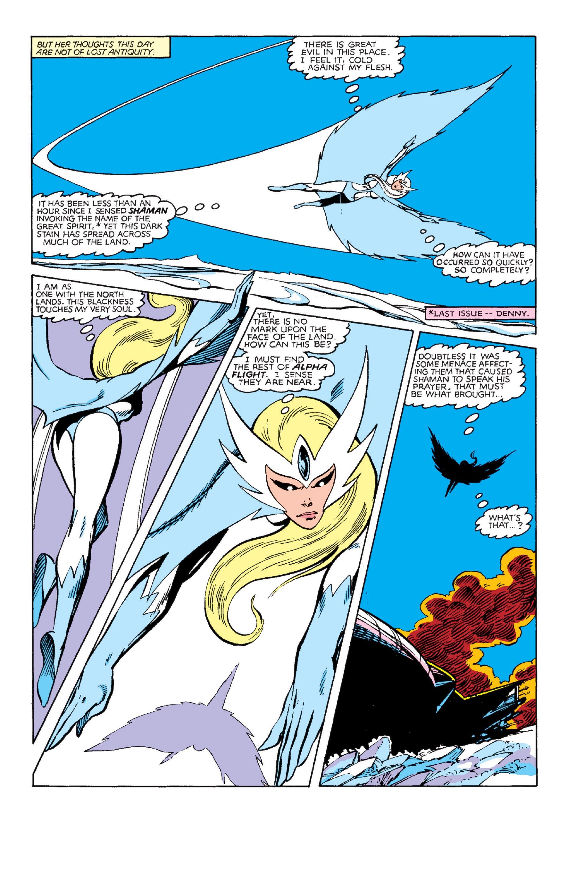 Read online Alpha Flight (1983) comic -  Issue #3 - 3