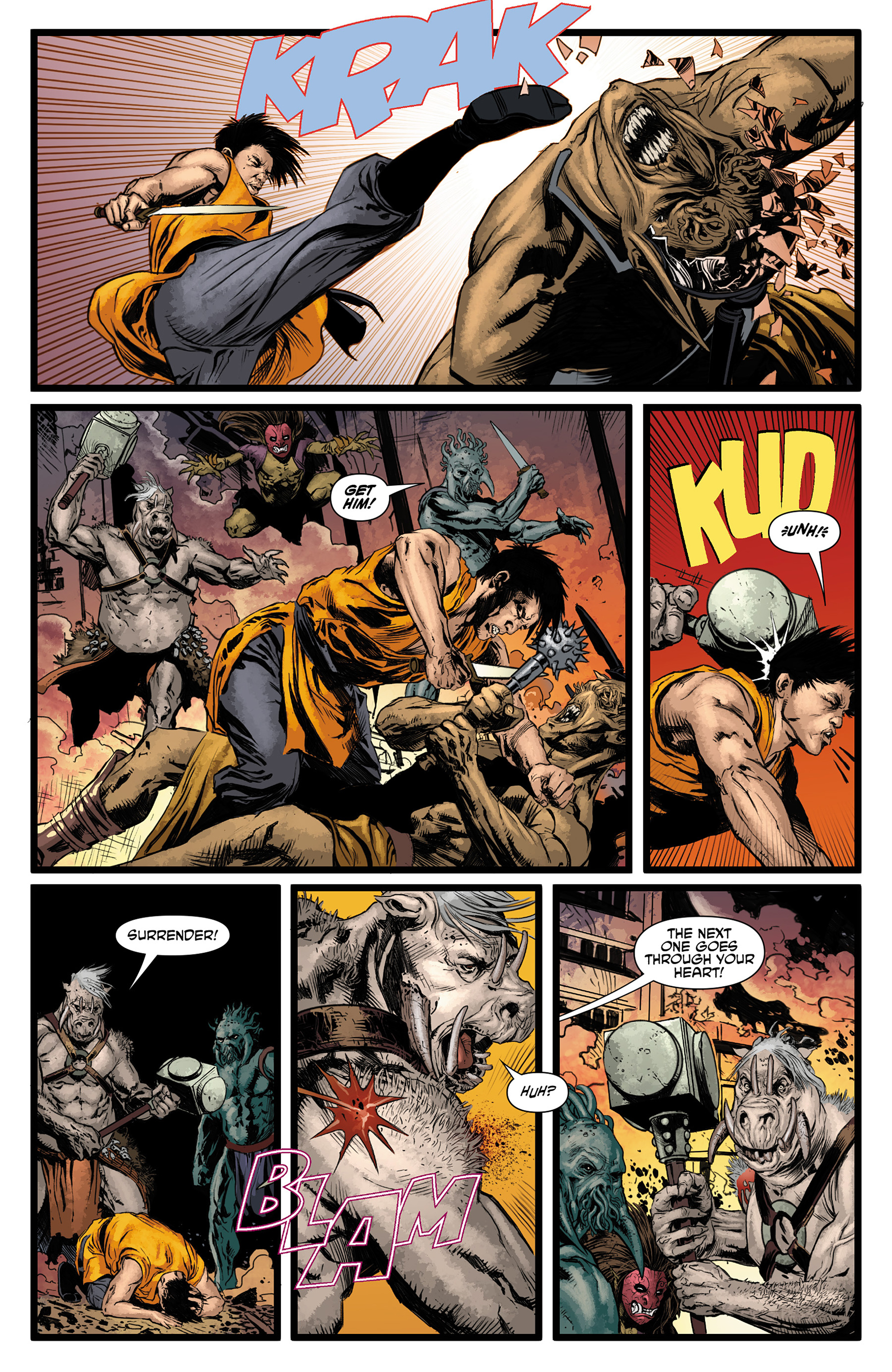 Read online King Tiger comic -  Issue #3 - 11