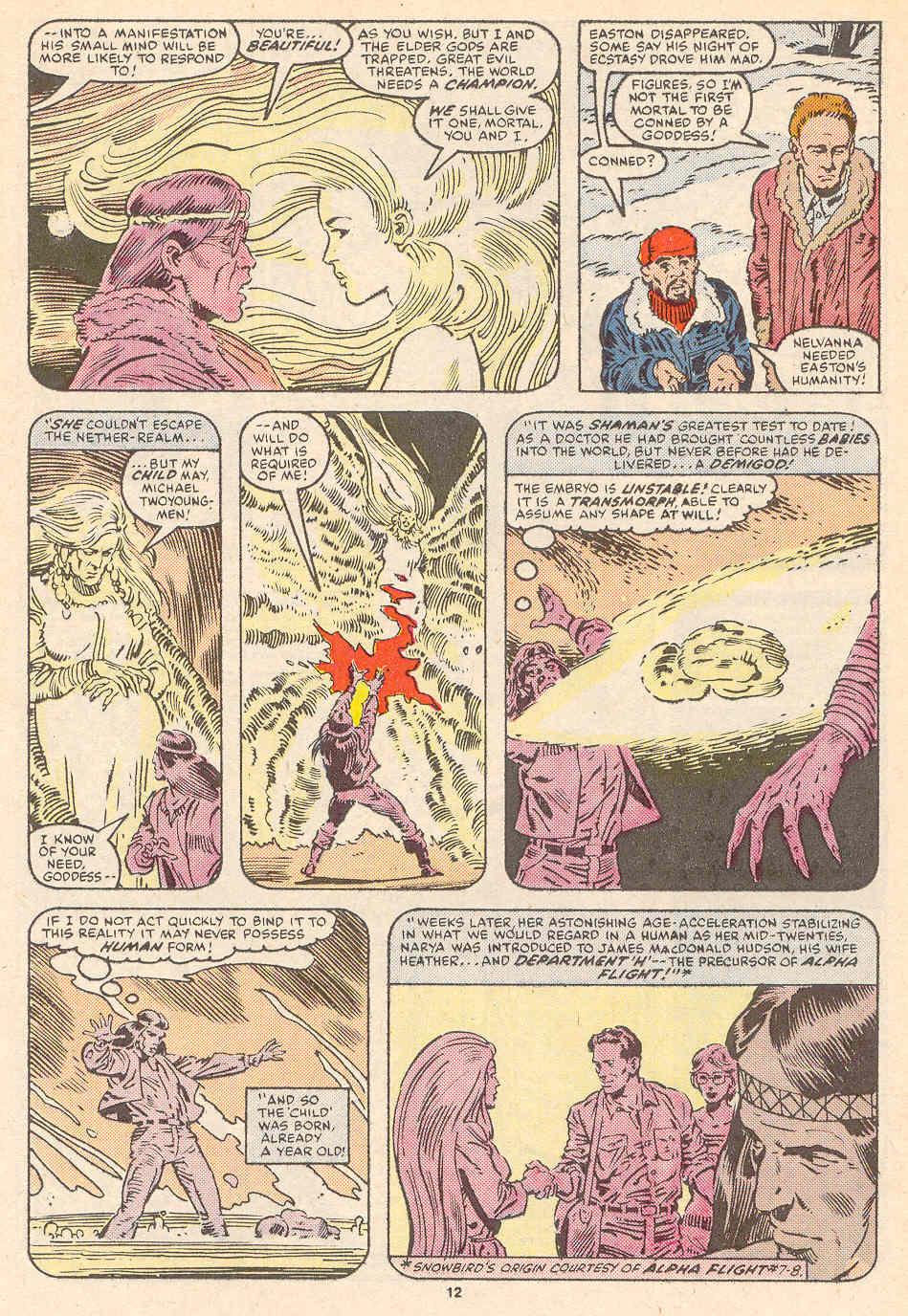 Read online Alpha Flight (1983) comic -  Issue #36 - 13