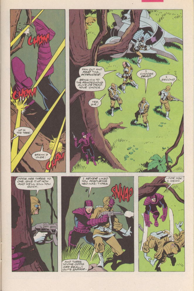 Read online Silver Sable and the Wild Pack comic -  Issue #6 - 9