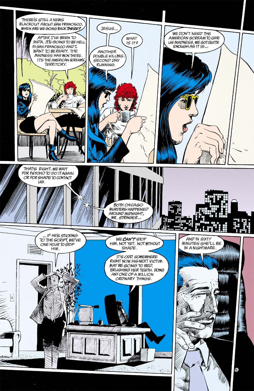 Read online Shade, the Changing Man comic -  Issue #11 - 6