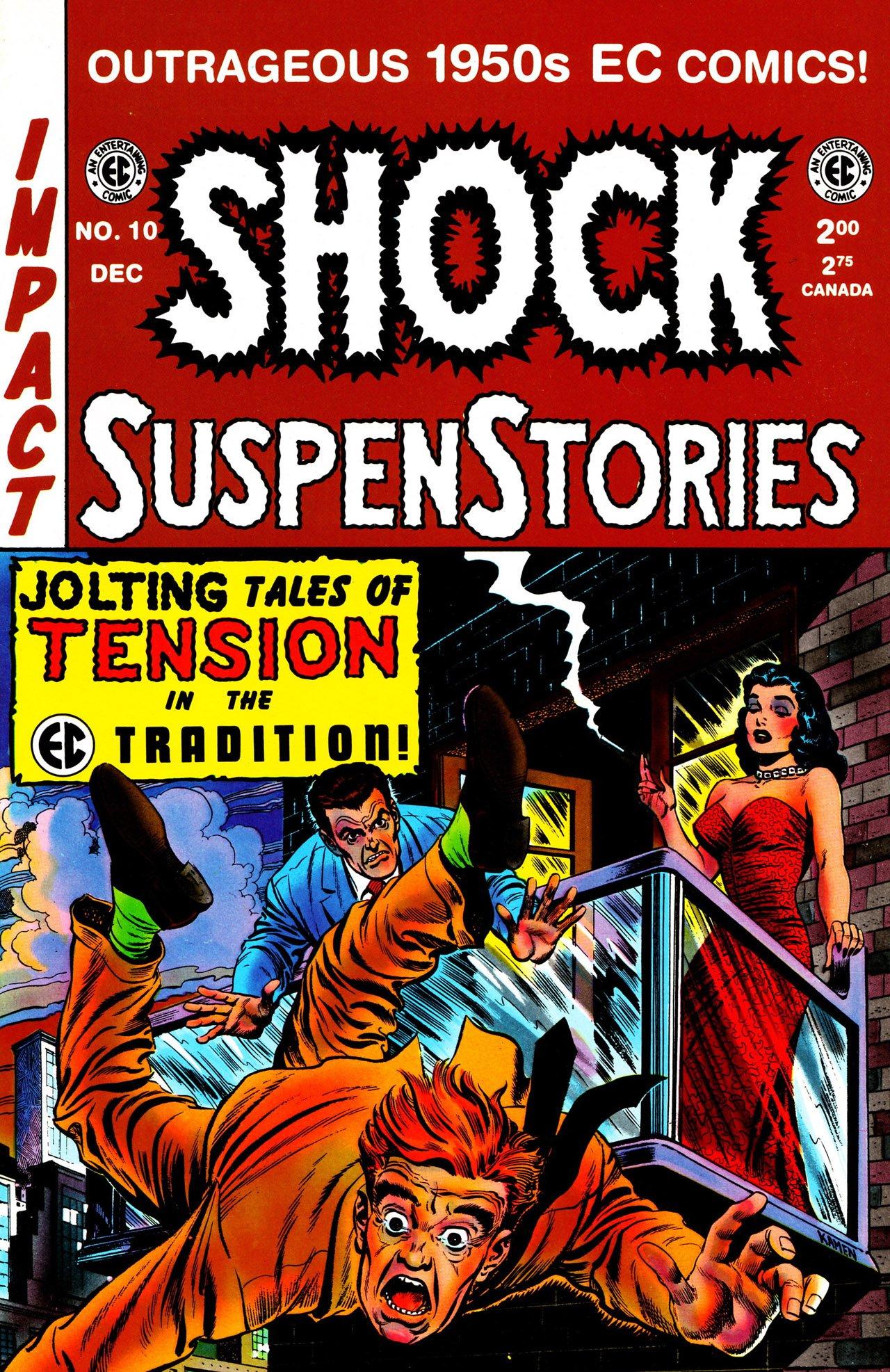 Read online Shock SuspenStories comic -  Issue #10 - 1