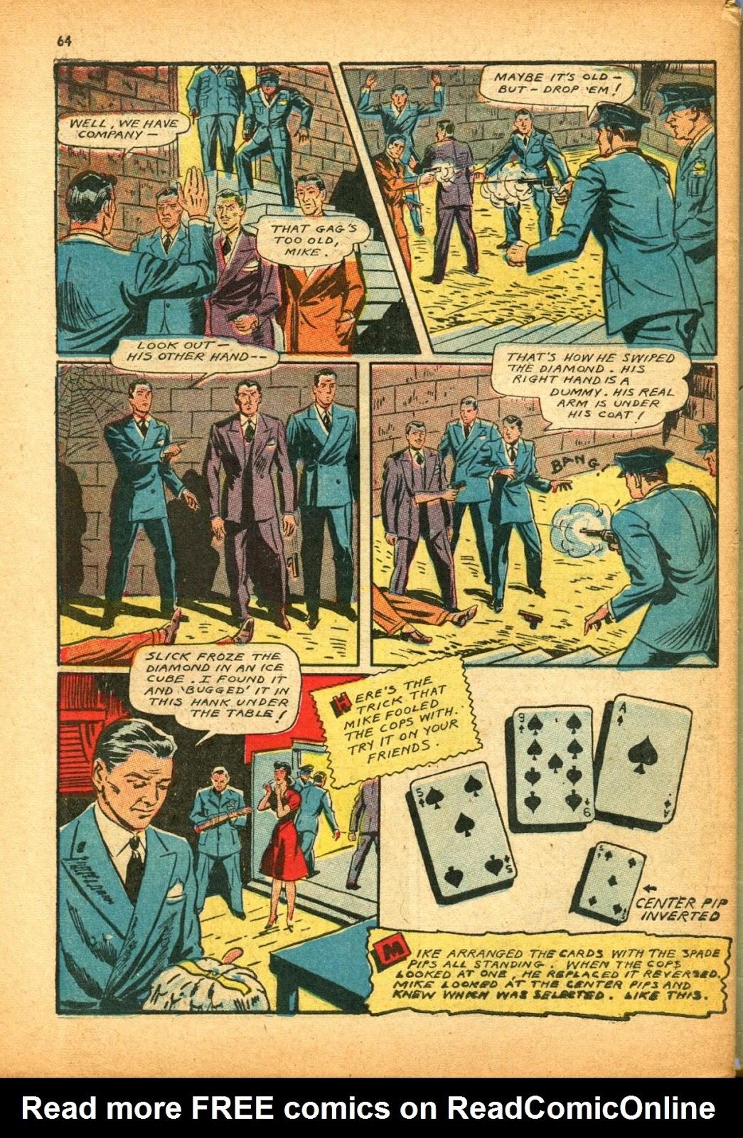 Read online Super-Magician Comics comic -  Issue #12 - 64