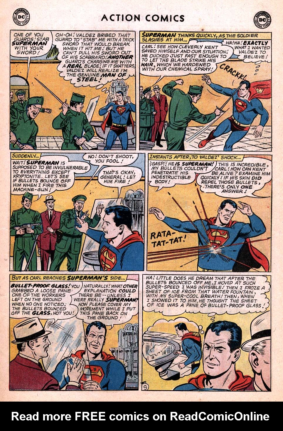 Read online Action Comics (1938) comic -  Issue #306 - 10