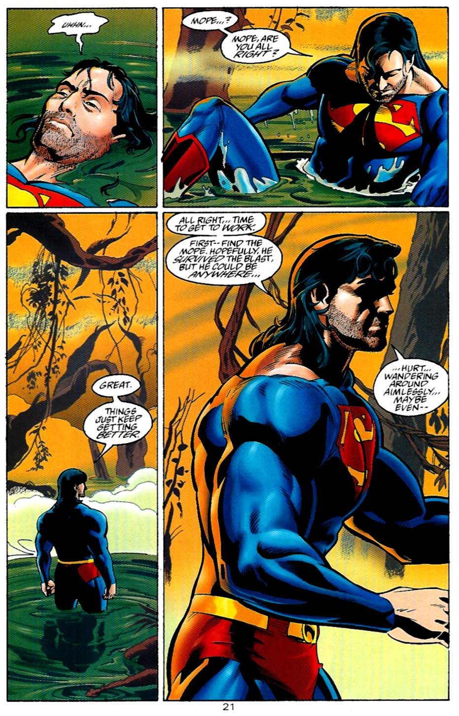 Read online Adventures of Superman (1987) comic -  Issue #530 - 22