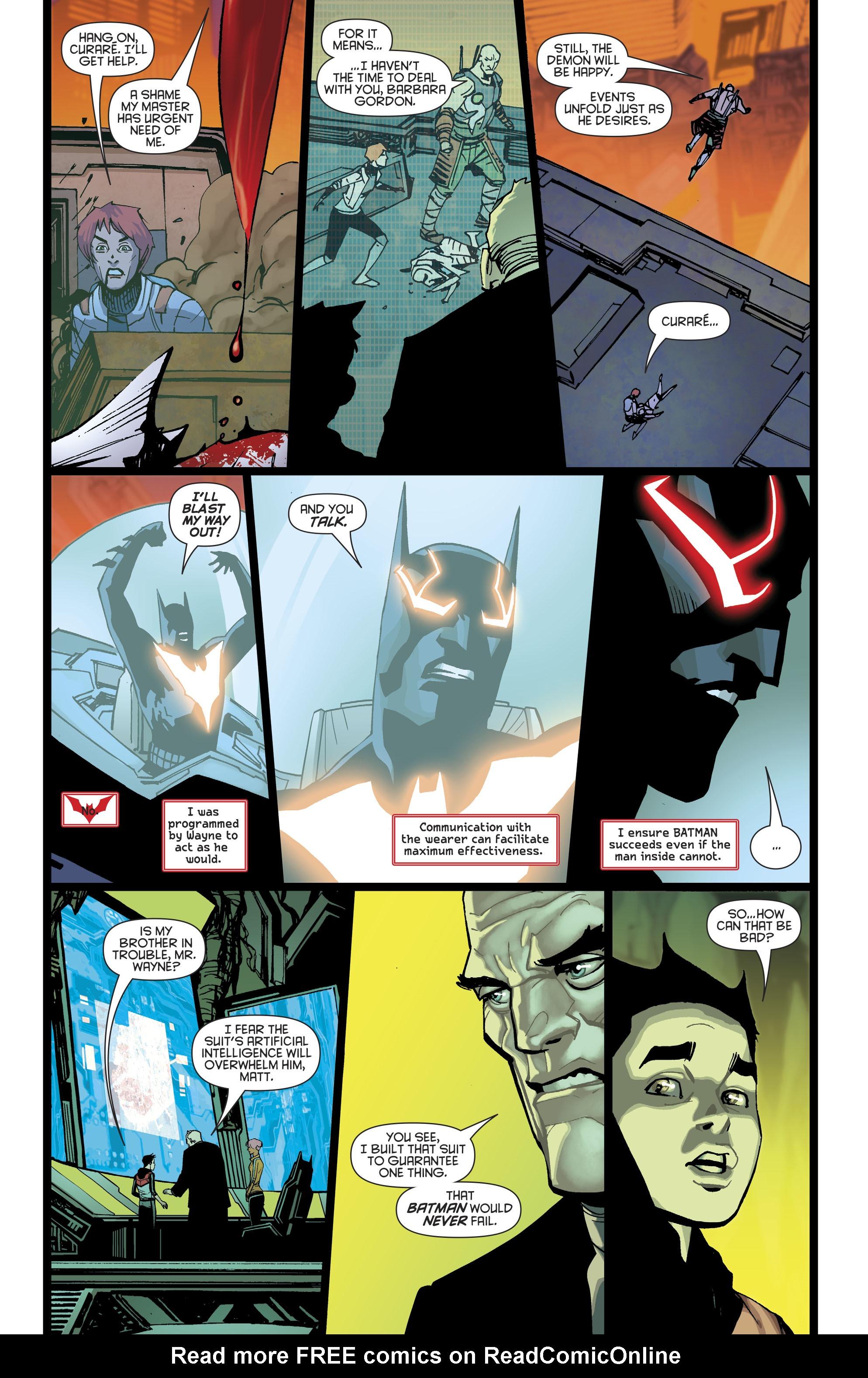 Read online Batman Beyond (2016) comic -  Issue #8 - 10