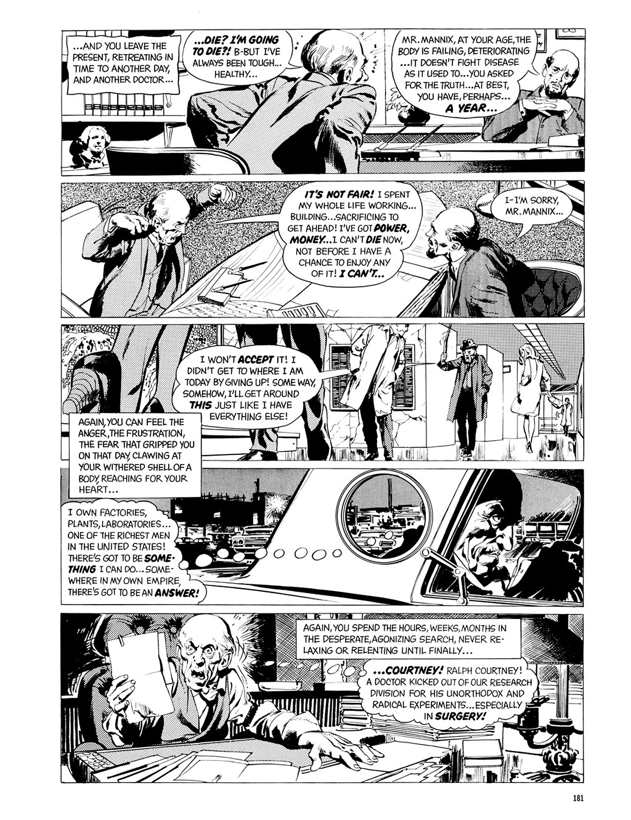 Read online Eerie Archives comic -  Issue # TPB 2 - 182