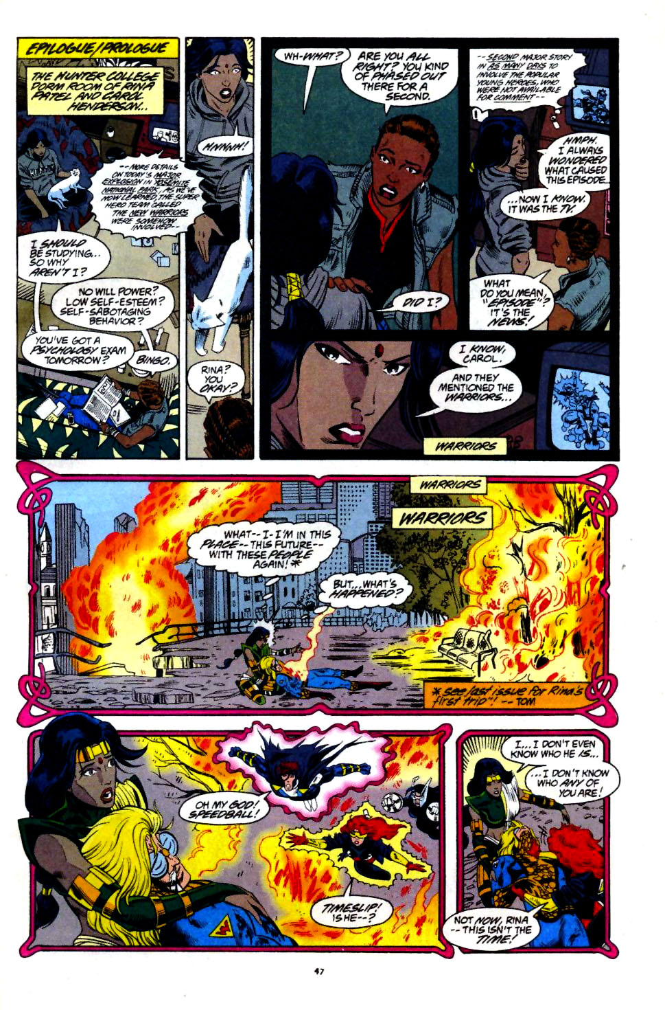 The New Warriors Issue #60 #64 - English 38