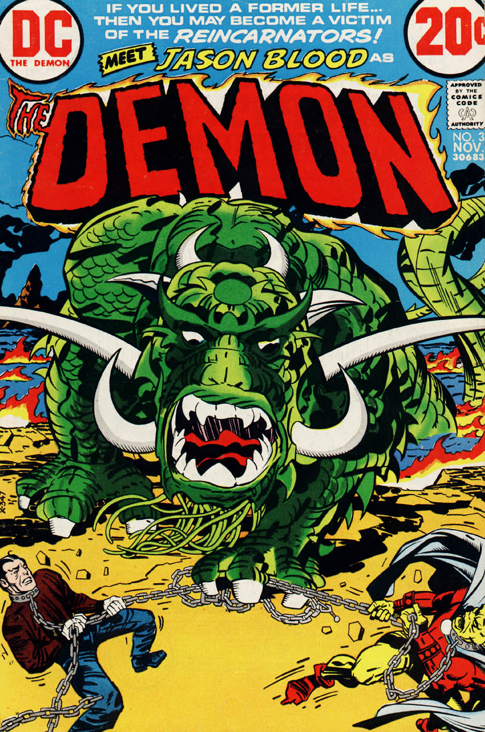 The Demon (1972) 3 Page 1