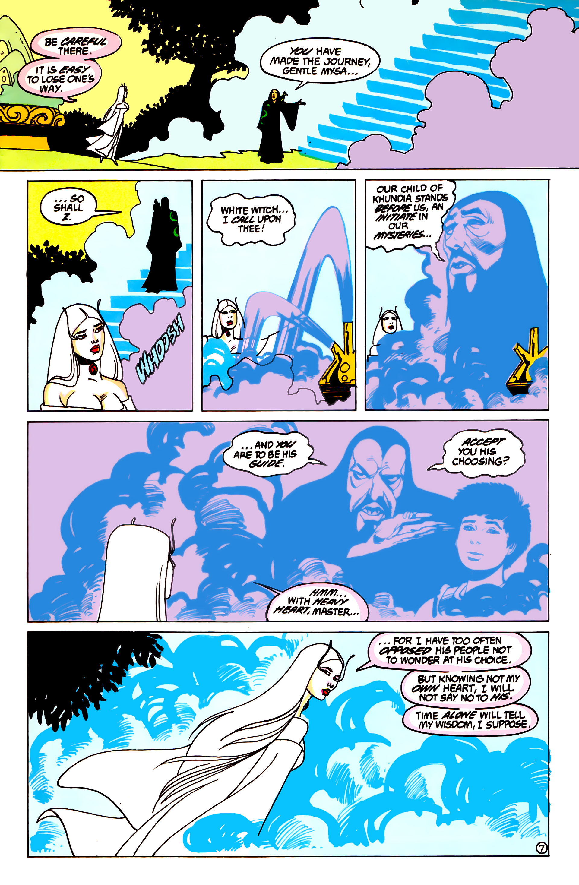 Legion of Super-Heroes (1984) 55 Page 7