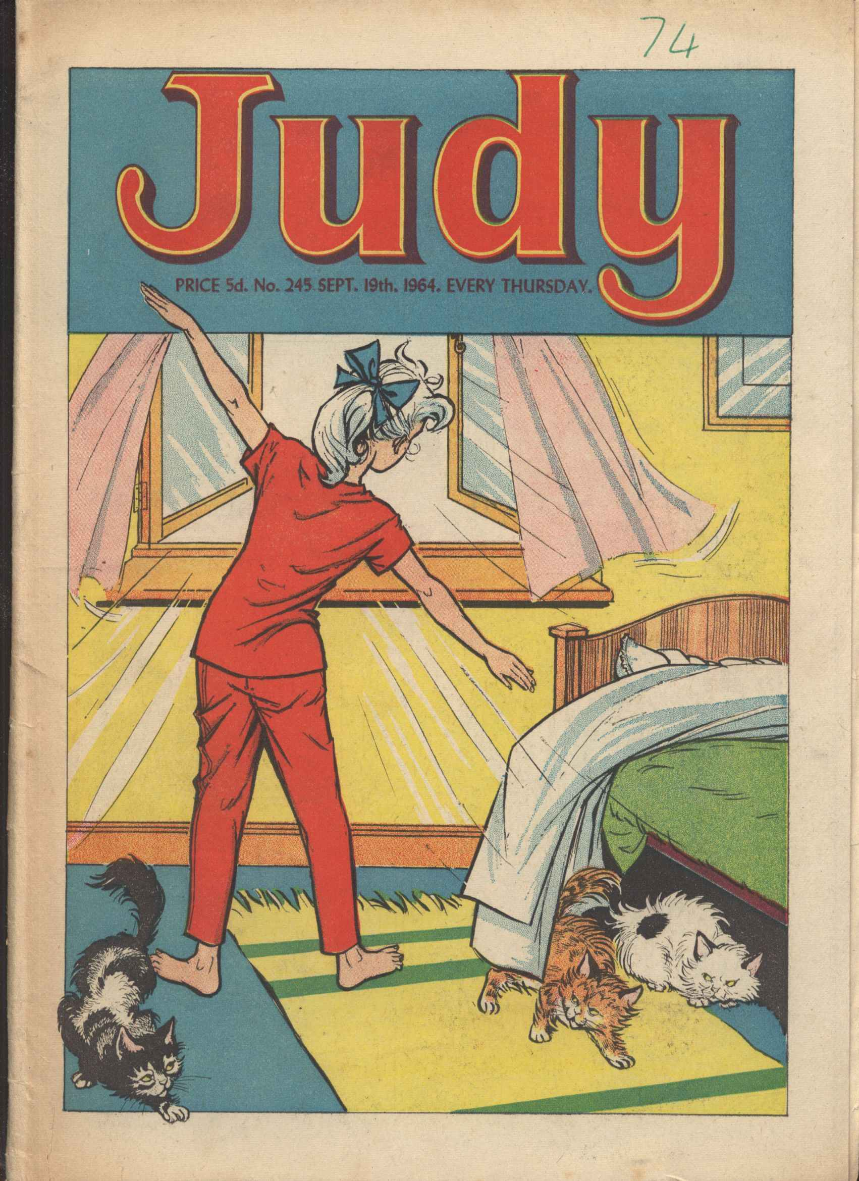 Read online Judy comic -  Issue #245 - 1