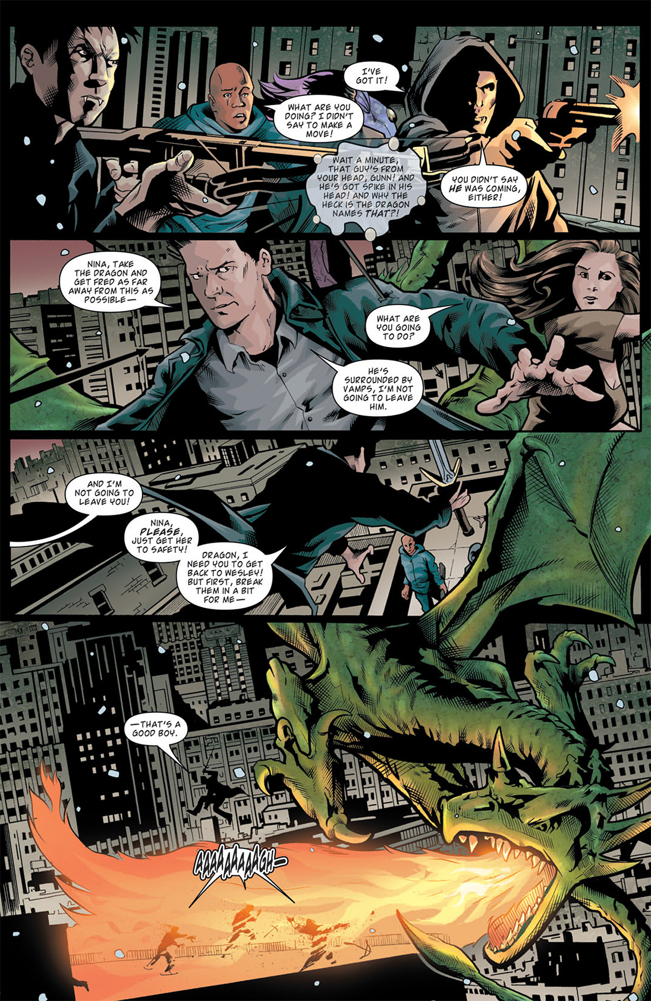 Read online Angel: After The Fall comic -  Issue #11 - 5