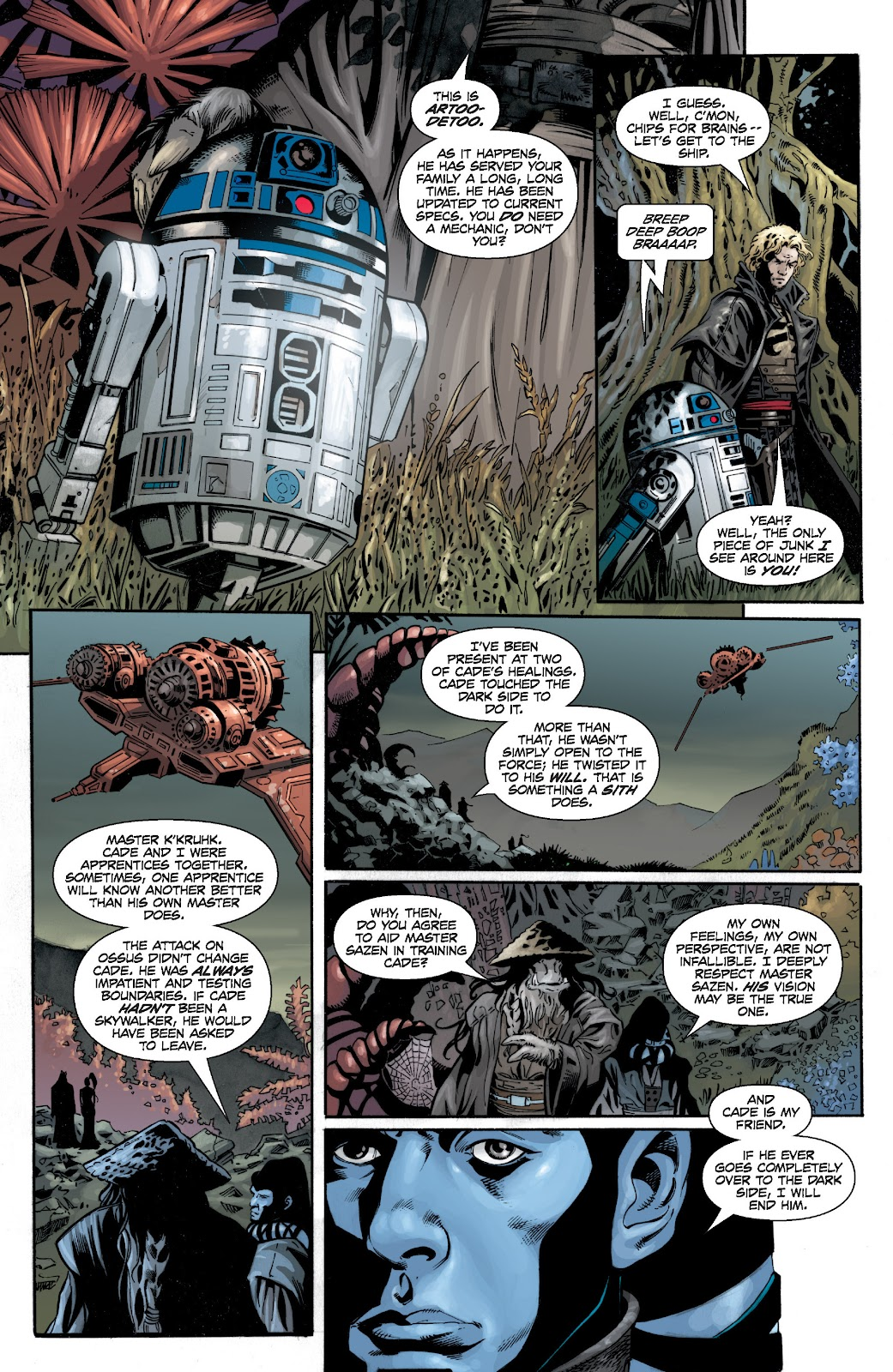Read online Star Wars Legends: Legacy - Epic Collection comic -  Issue # TPB 1 (Part 4) - 17