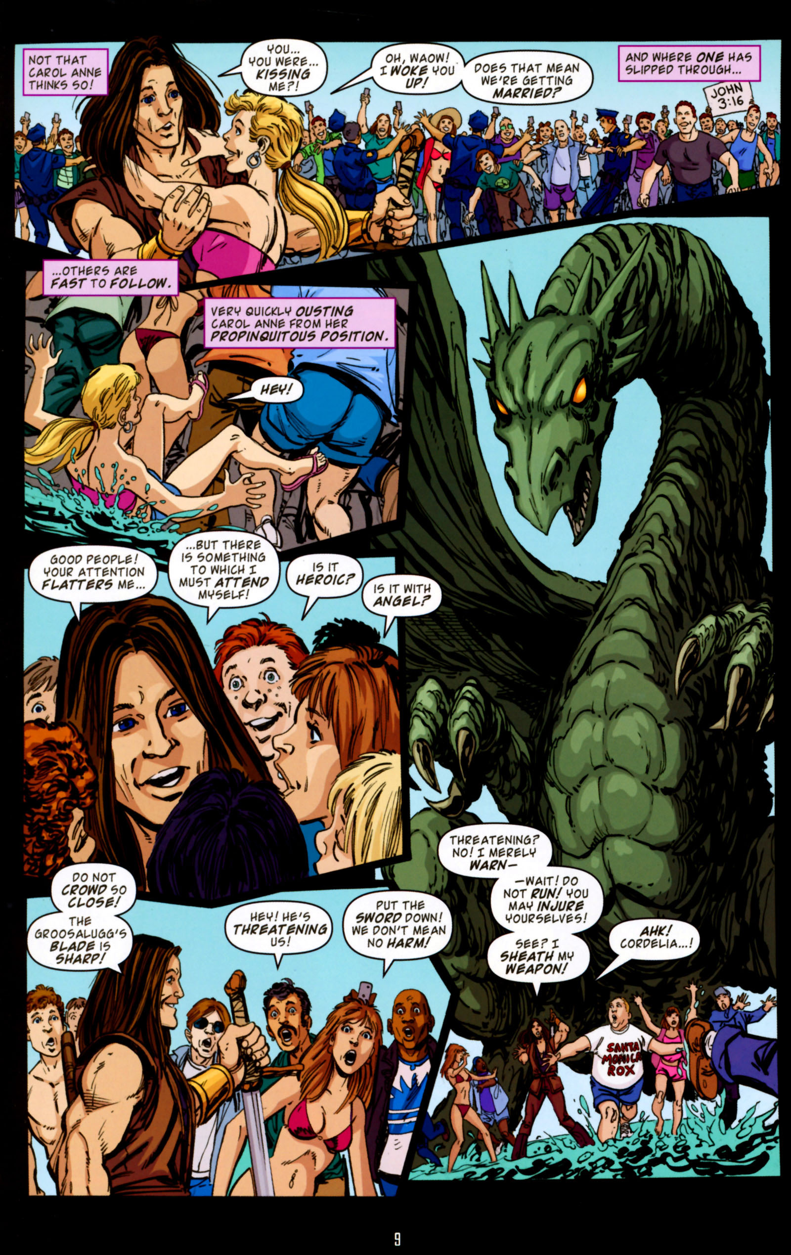 Read online Angel Special: Lorne comic -  Issue # Full - 10