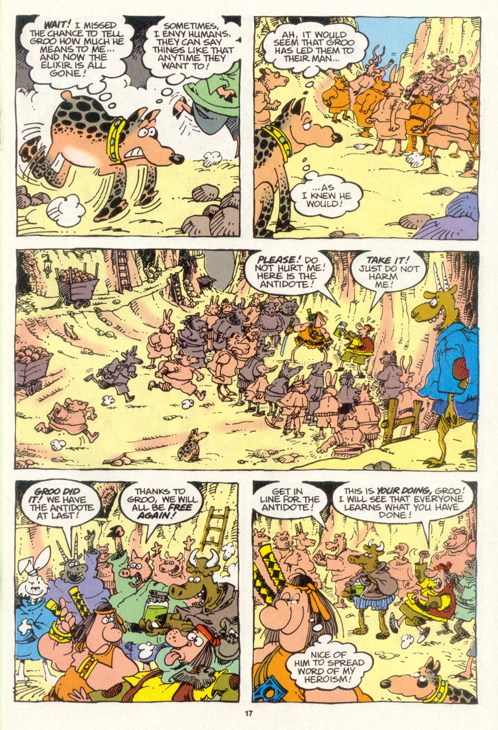 Read online Sergio Aragonés Groo the Wanderer comic -  Issue #105 - 19