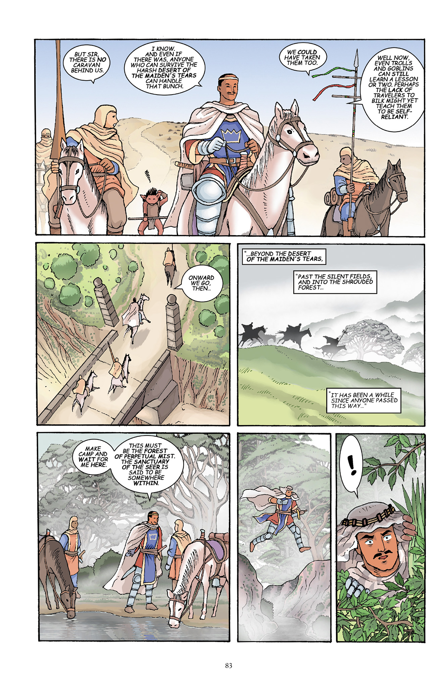 Read online Courageous Princess comic -  Issue # TPB 1 - 84