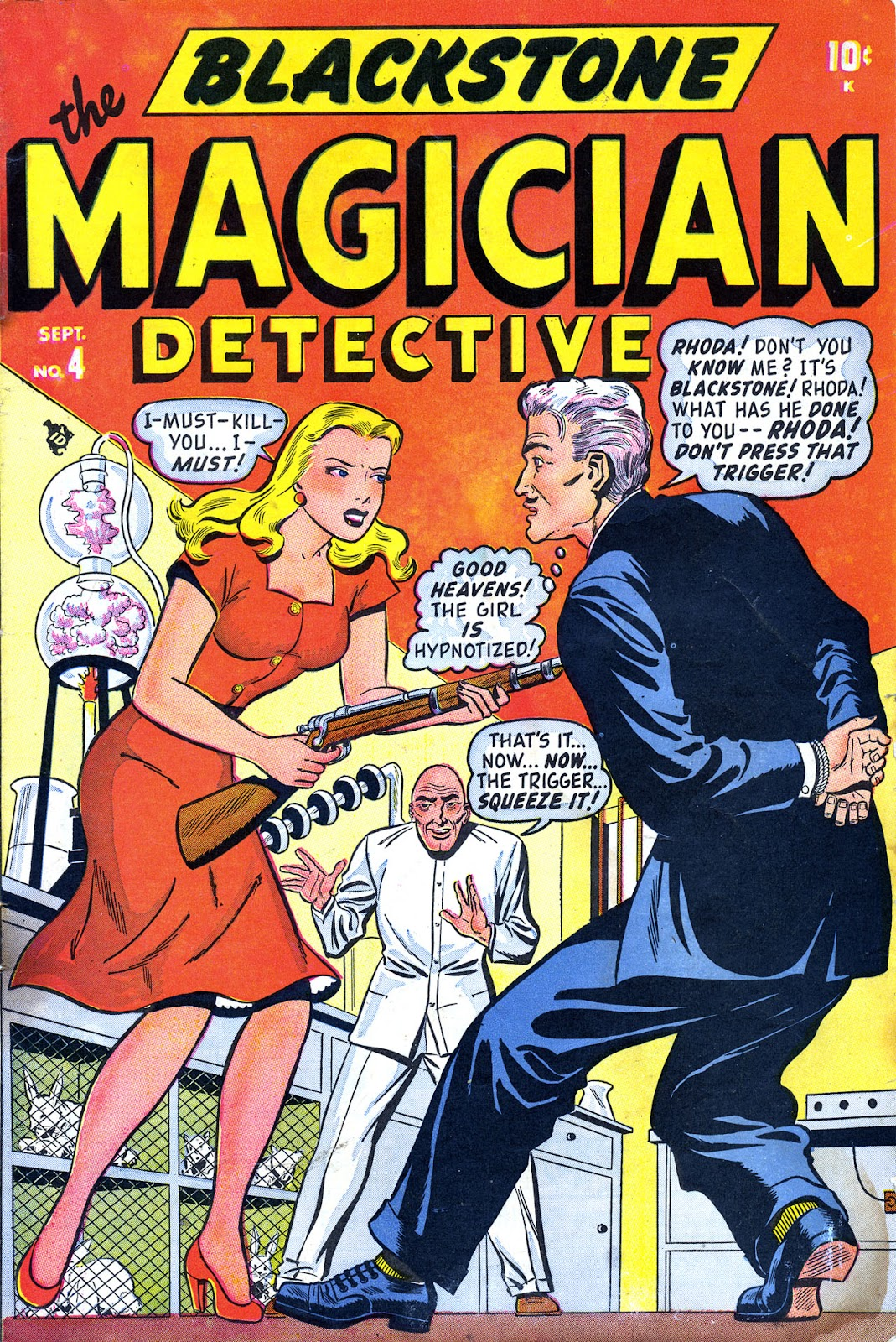 Read online Blackstone the Magician comic -  Issue #4 - 1
