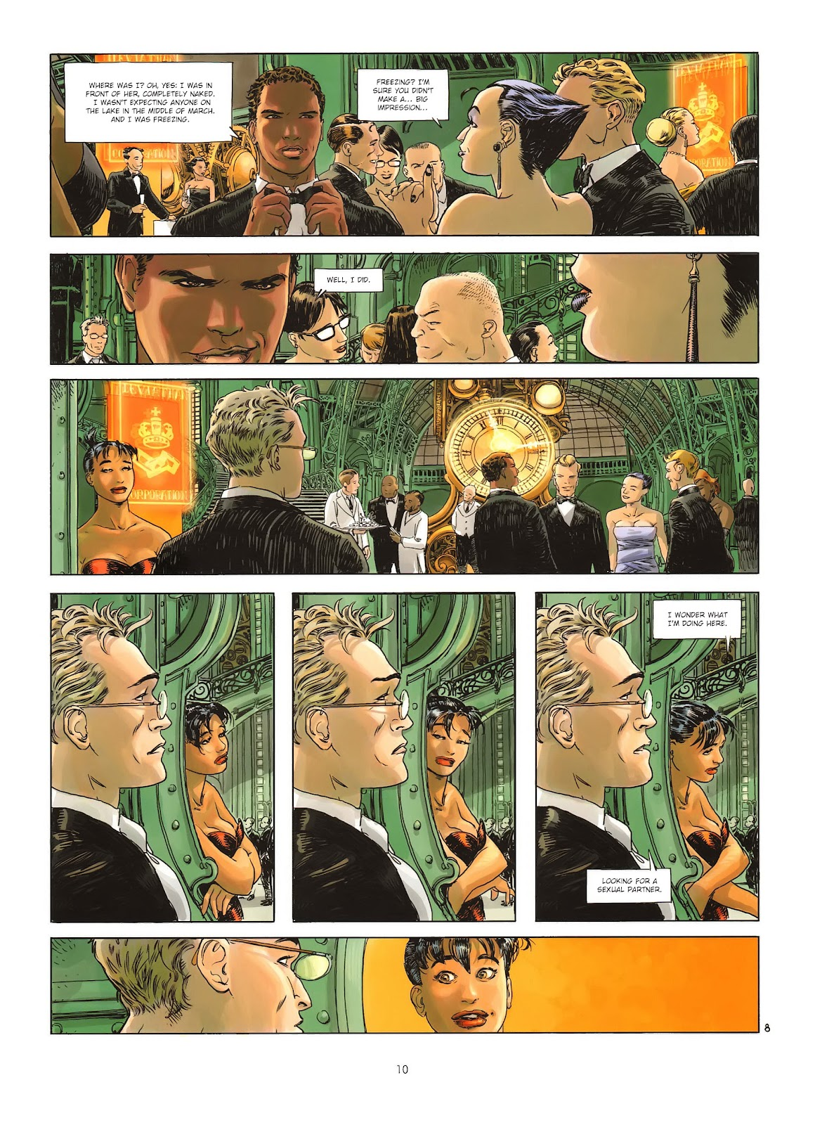 Read online Cutting Edge (2013) comic -  Issue #1 - 10