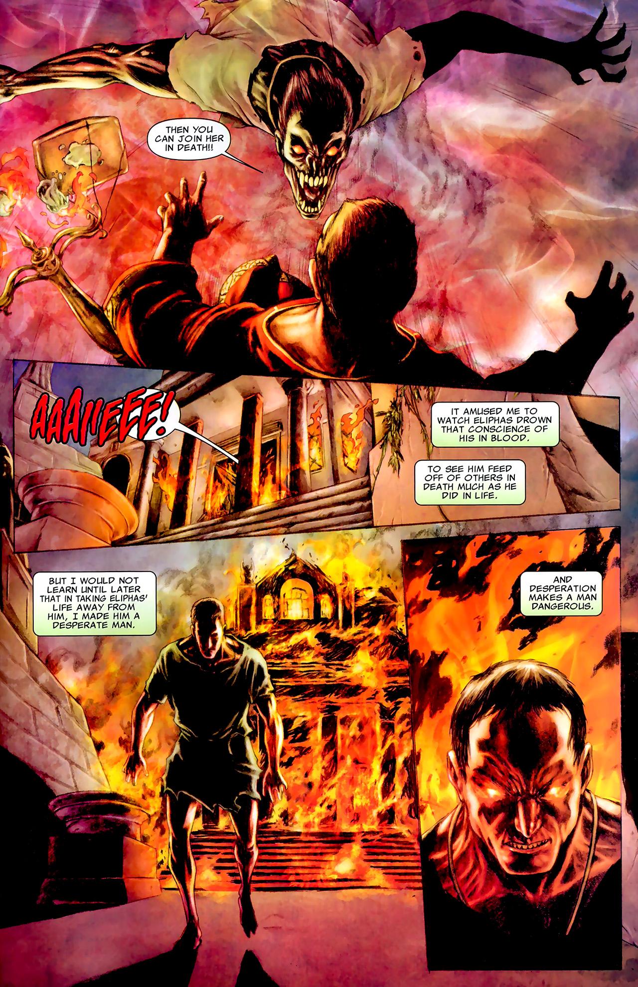 Read online X Necrosha: The Gathering comic -  Issue # Full - 38