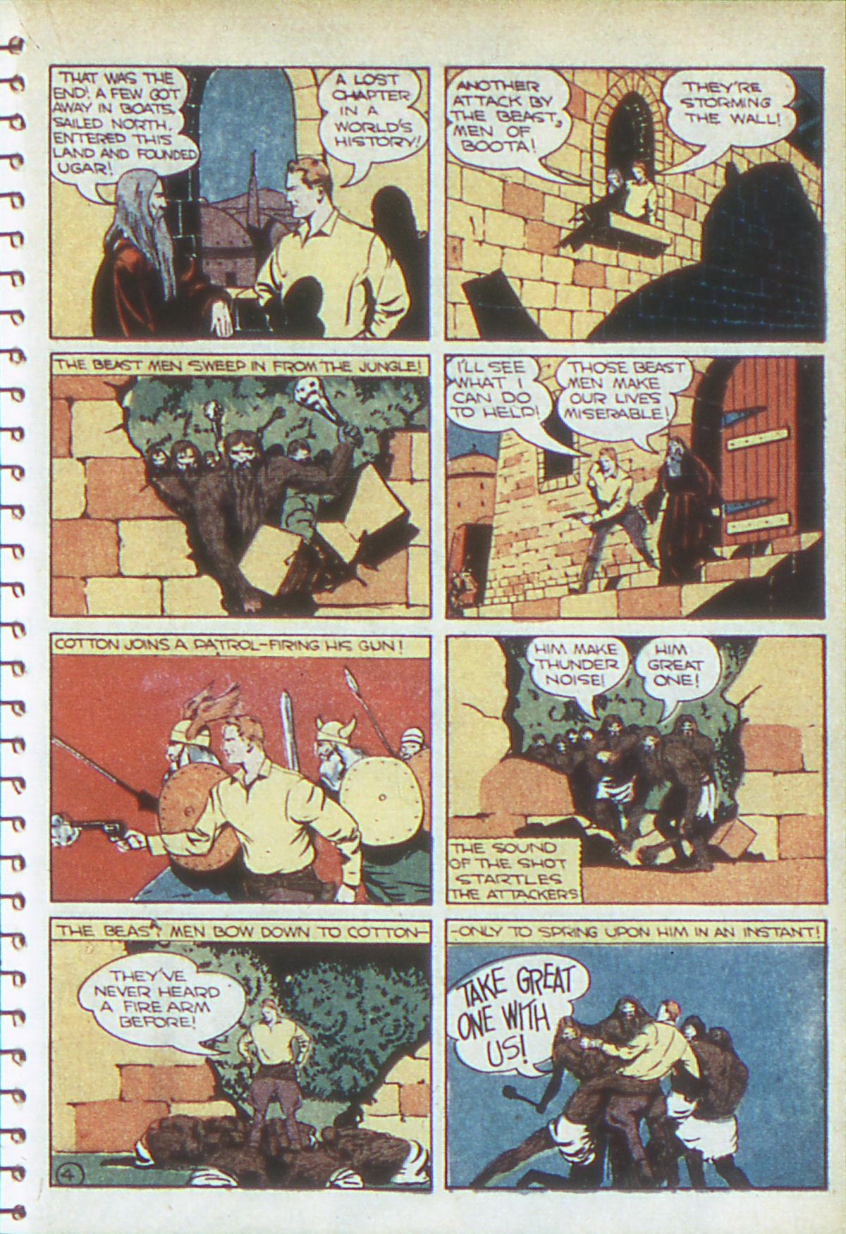 Read online Adventure Comics (1938) comic -  Issue #54 - 36