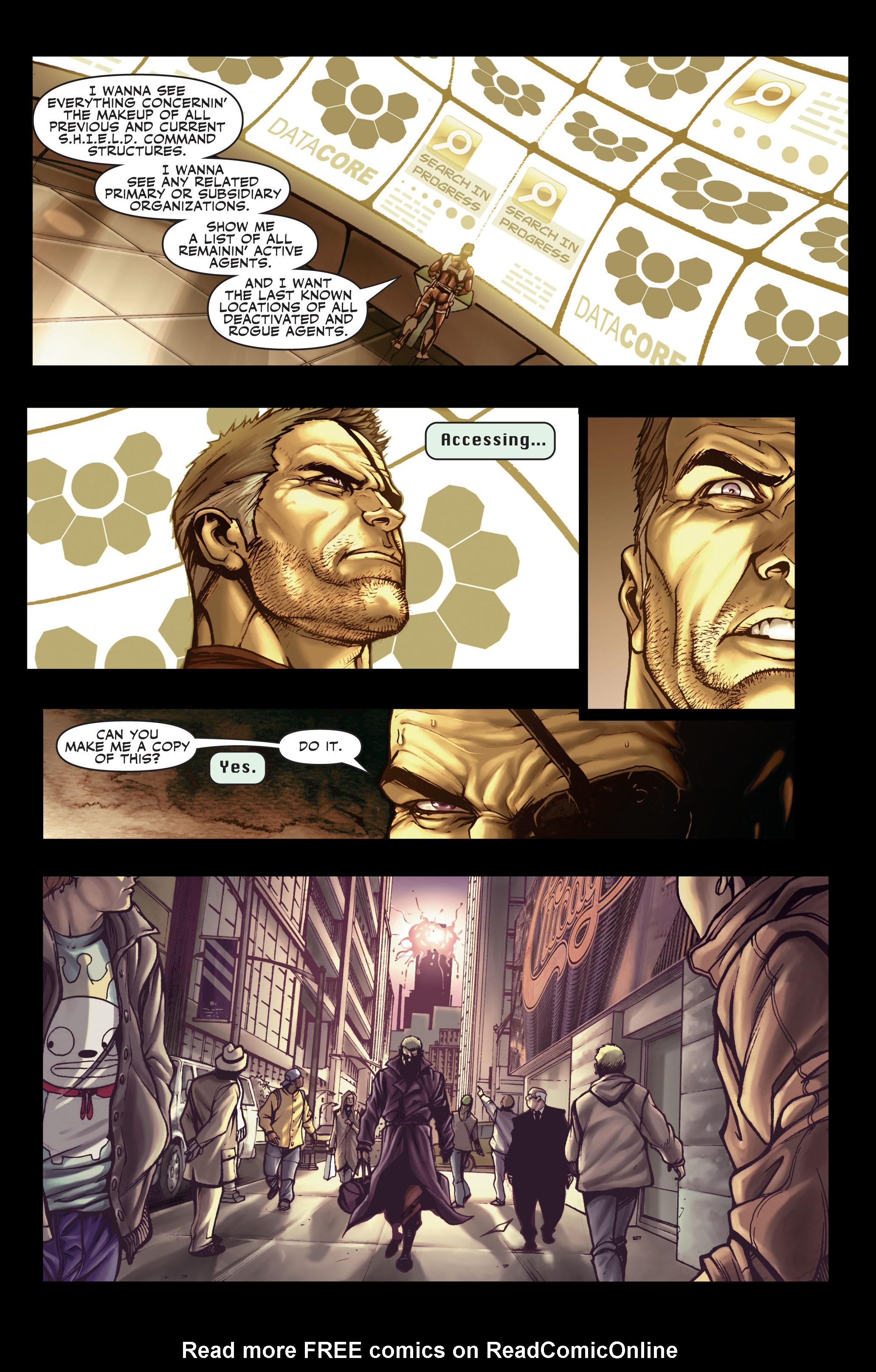 Read online Secret Warriors comic -  Issue #1 - 19