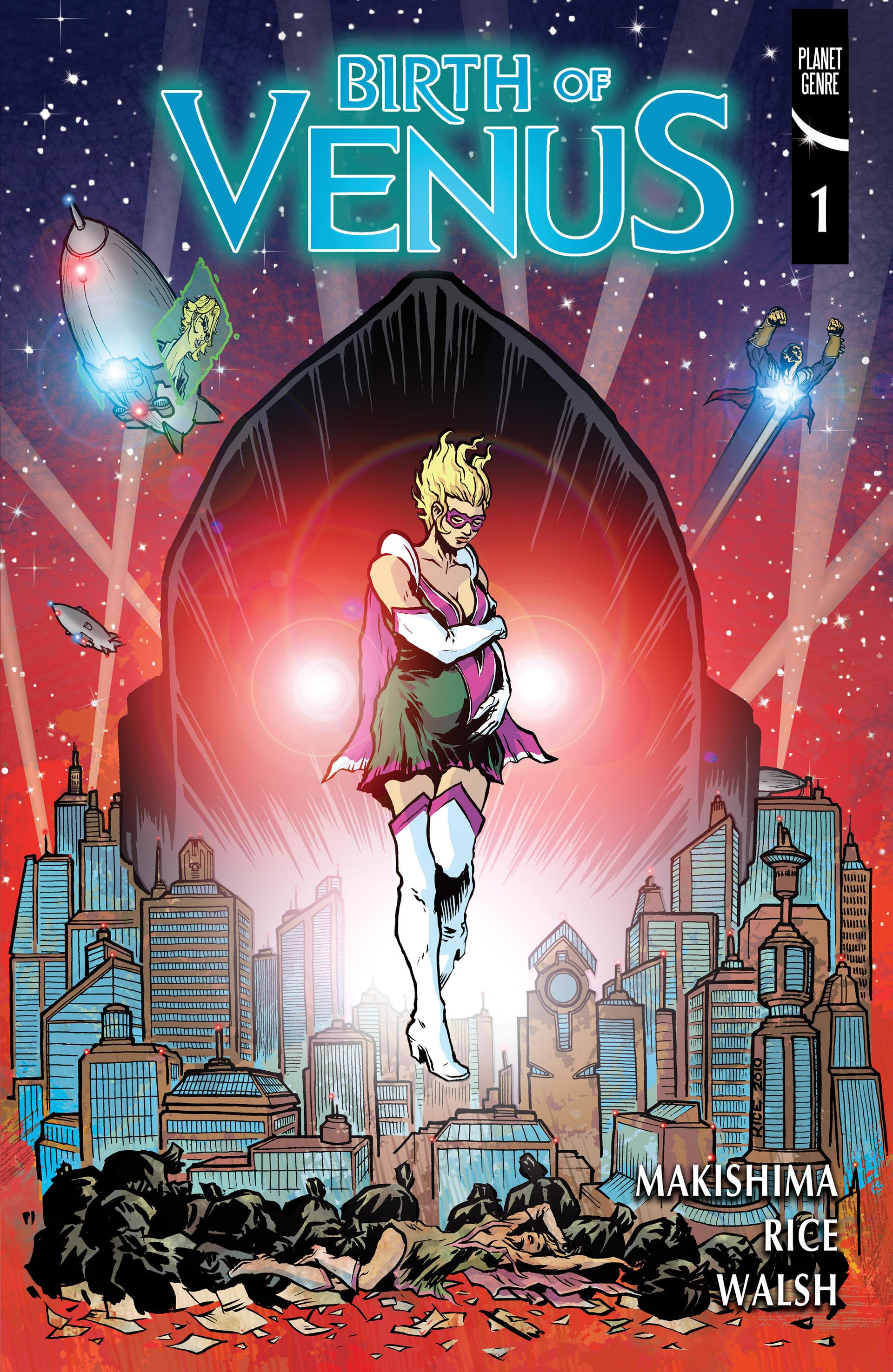 Read online Birth of Venus comic -  Issue #1 - 1