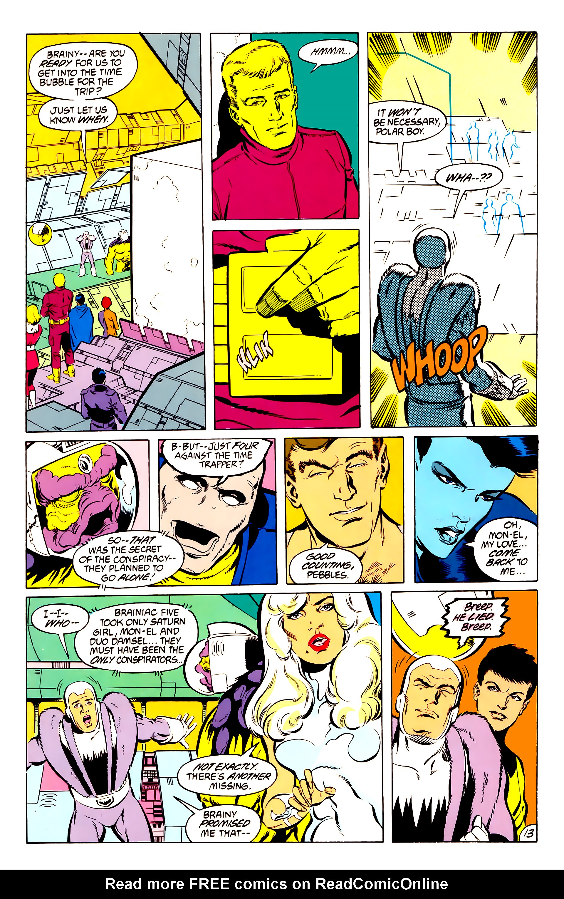 Legion of Super-Heroes (1984) 50 Page 13