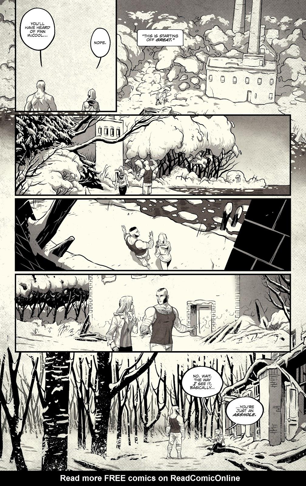 Read online Nomen Omen comic -  Issue #3 - 22