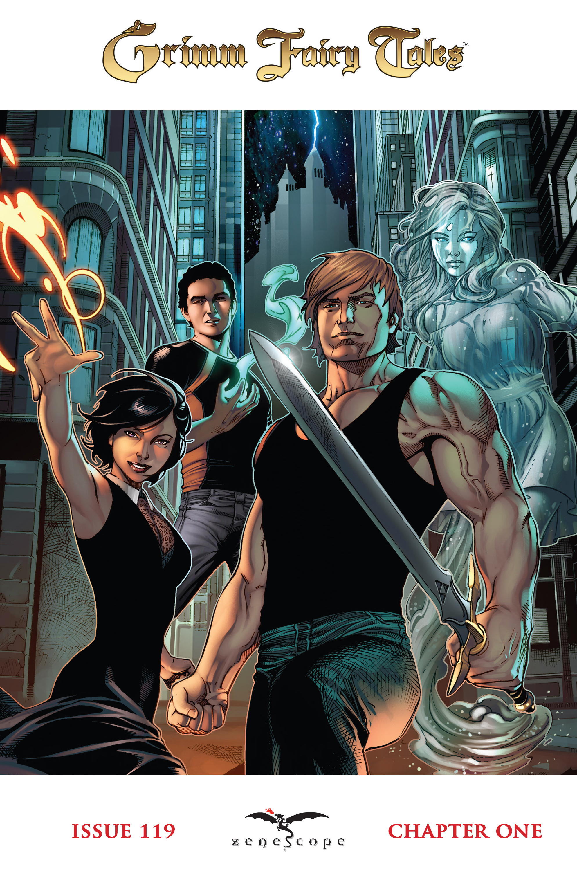 Read online Grimm Fairy Tales: Arcane Acre comic -  Issue # TPB 4 - 6