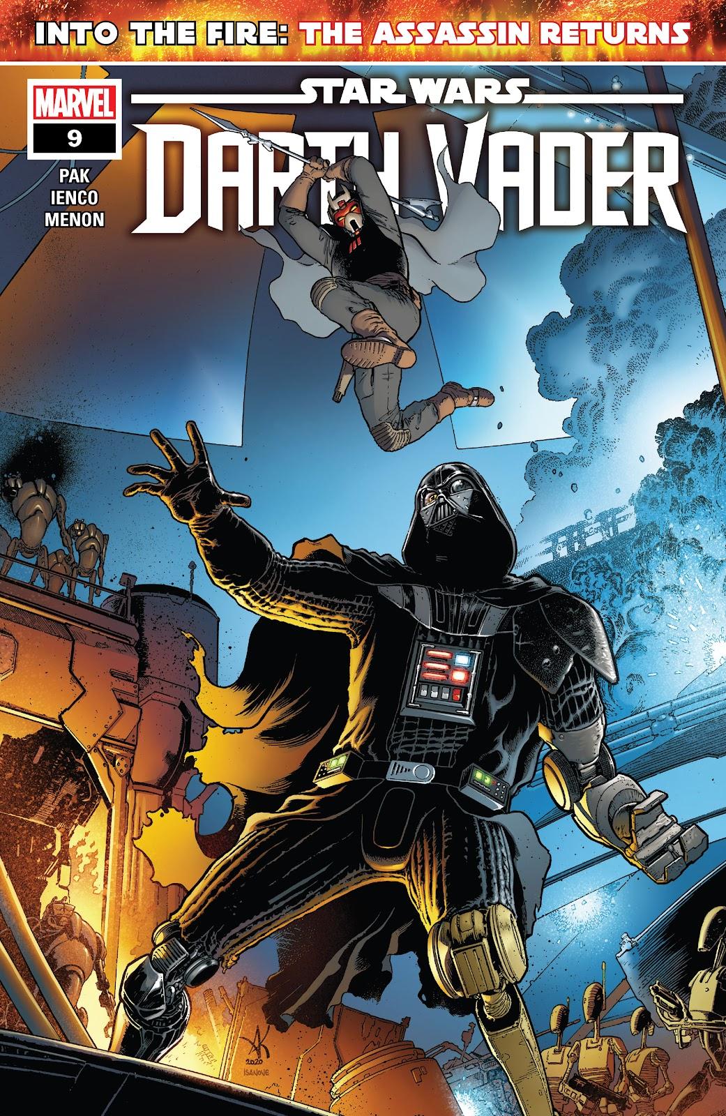 Star Wars: Darth Vader (2020) 9 Page 1