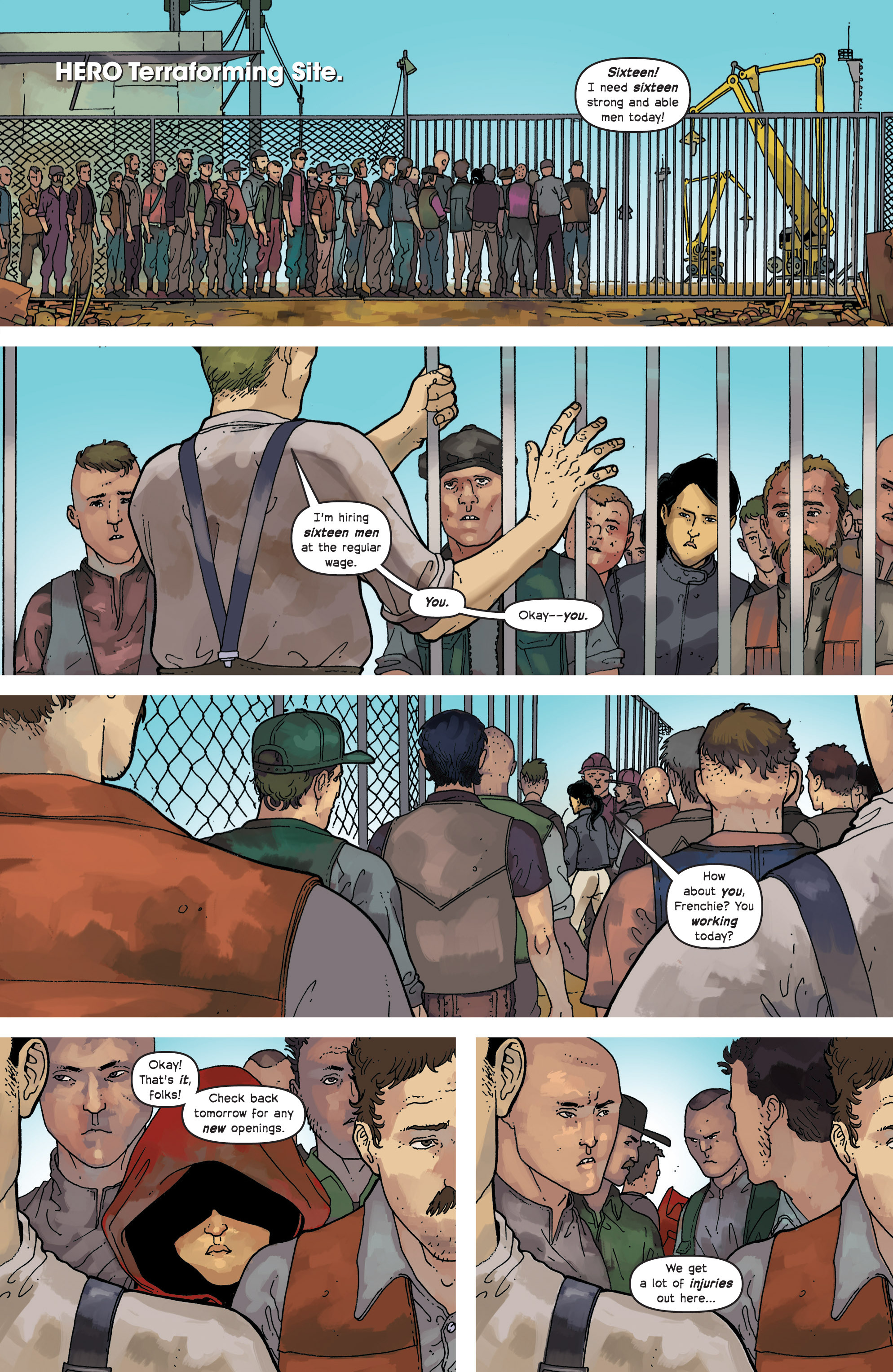 Read online Great Pacific comic -  Issue #8 - 13