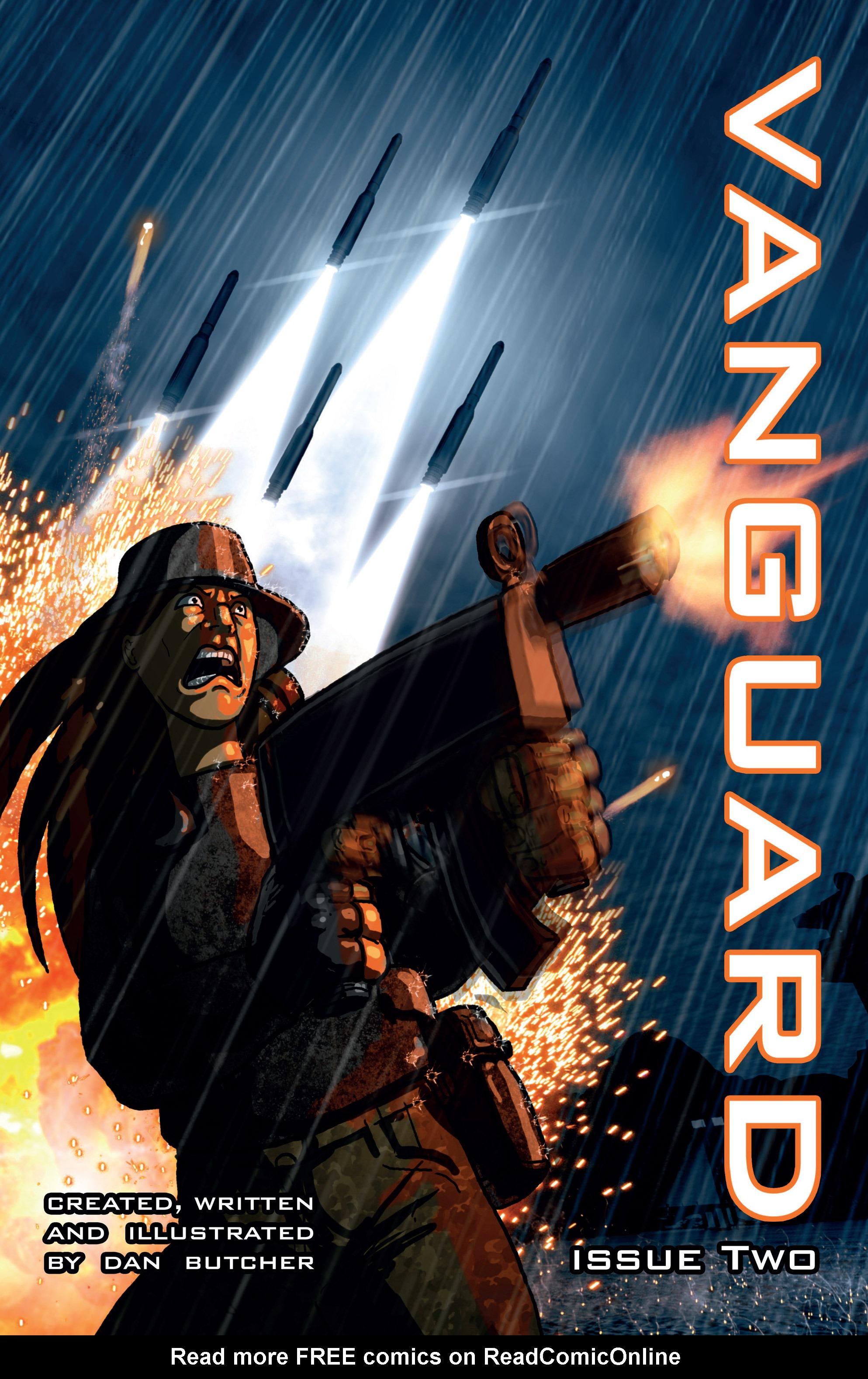 Read online Vanguard (2015) comic -  Issue #2 - 1