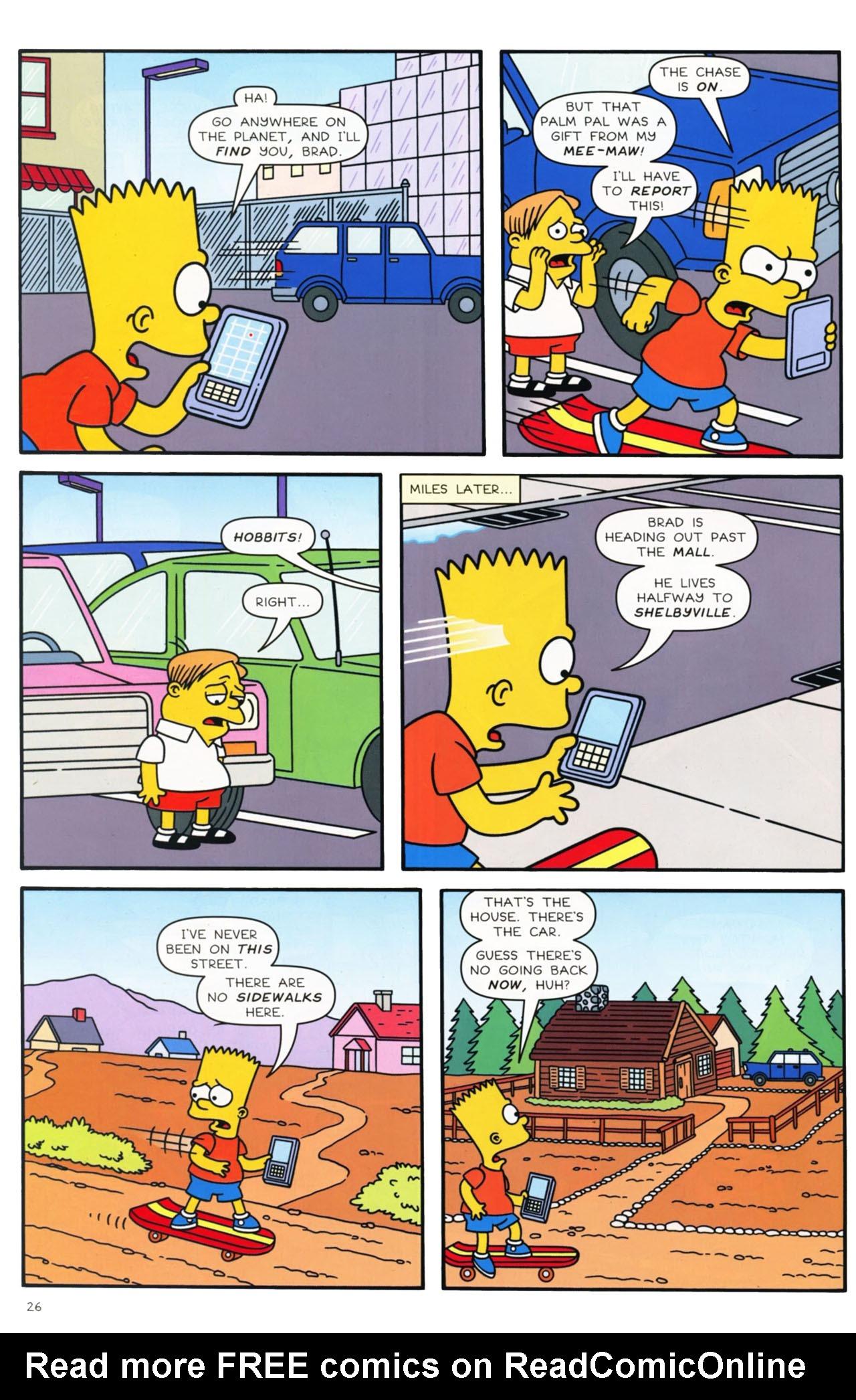 Read online Simpsons Comics comic -  Issue #169 - 21