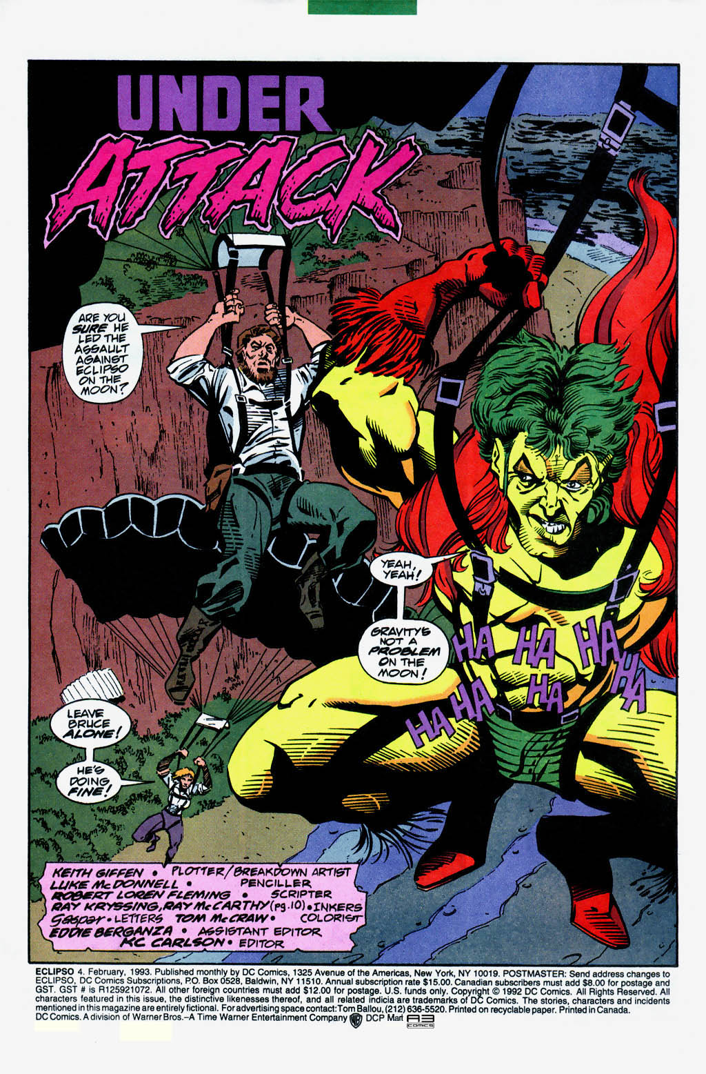 Eclipso Issue #4 #5 - English 3
