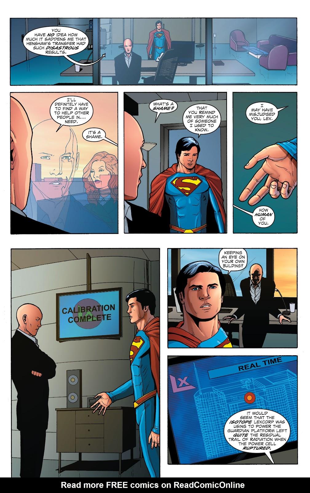 Read online Smallville Season 11 [II] comic -  Issue # TPB 1 - 124