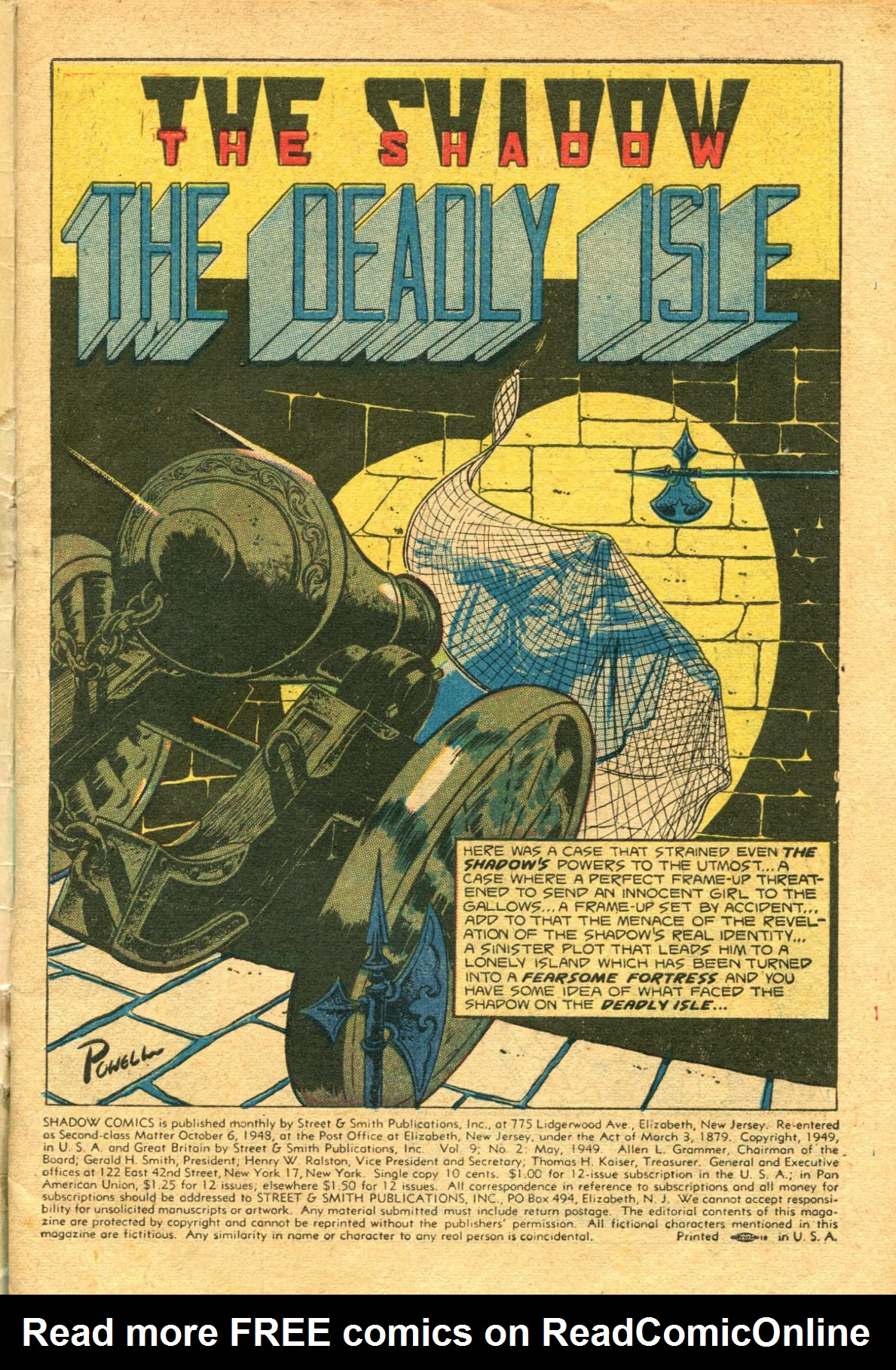 Read online Shadow Comics comic -  Issue #98 - 3