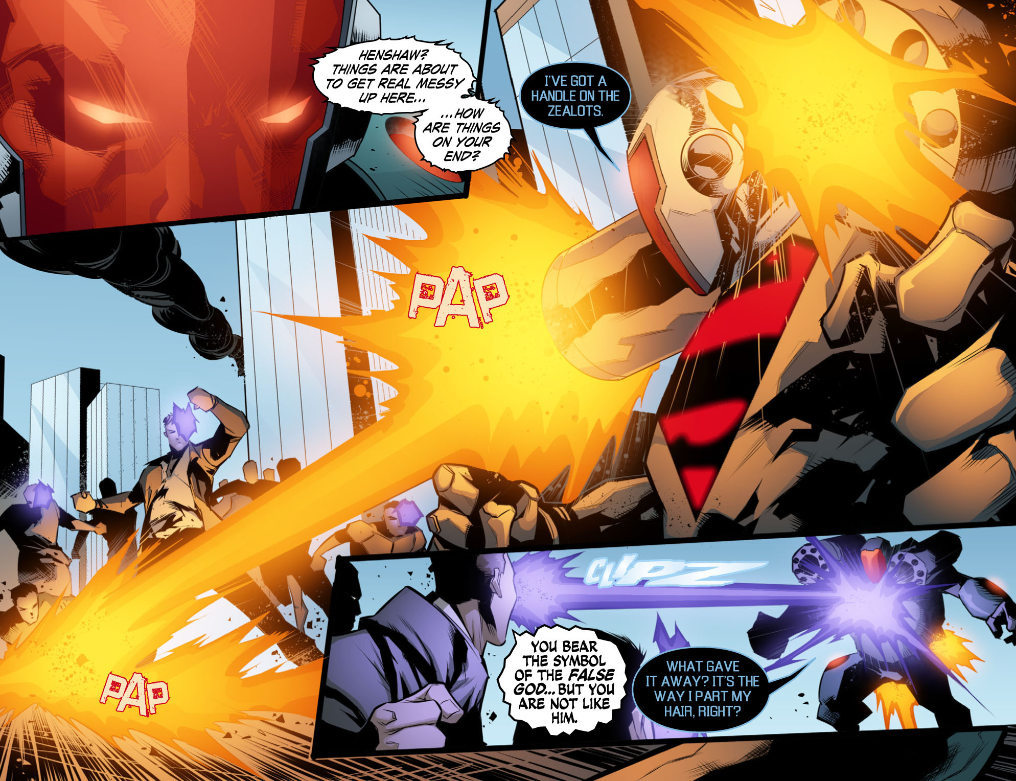 Read online Smallville: Chaos [II] comic -  Issue #10 - 9