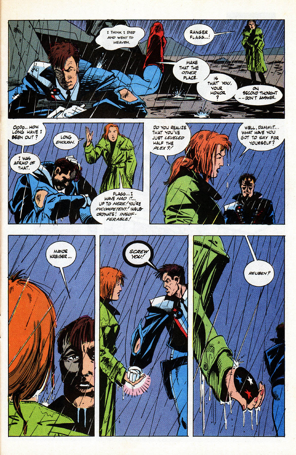 Read online American Flagg! comic -  Issue #38 - 25