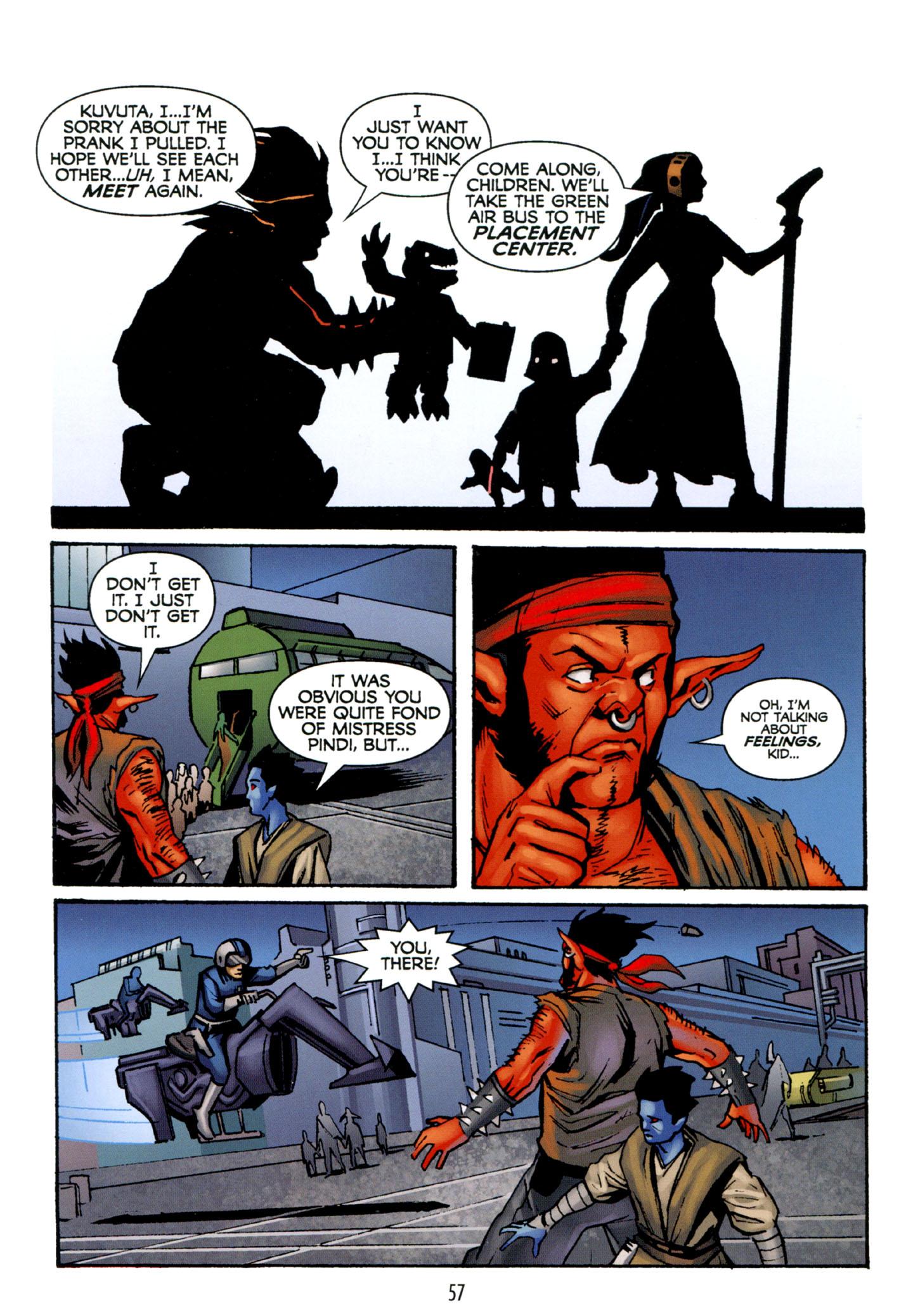 Read online Star Wars: The Clone Wars - Strange Allies comic -  Issue # Full - 58