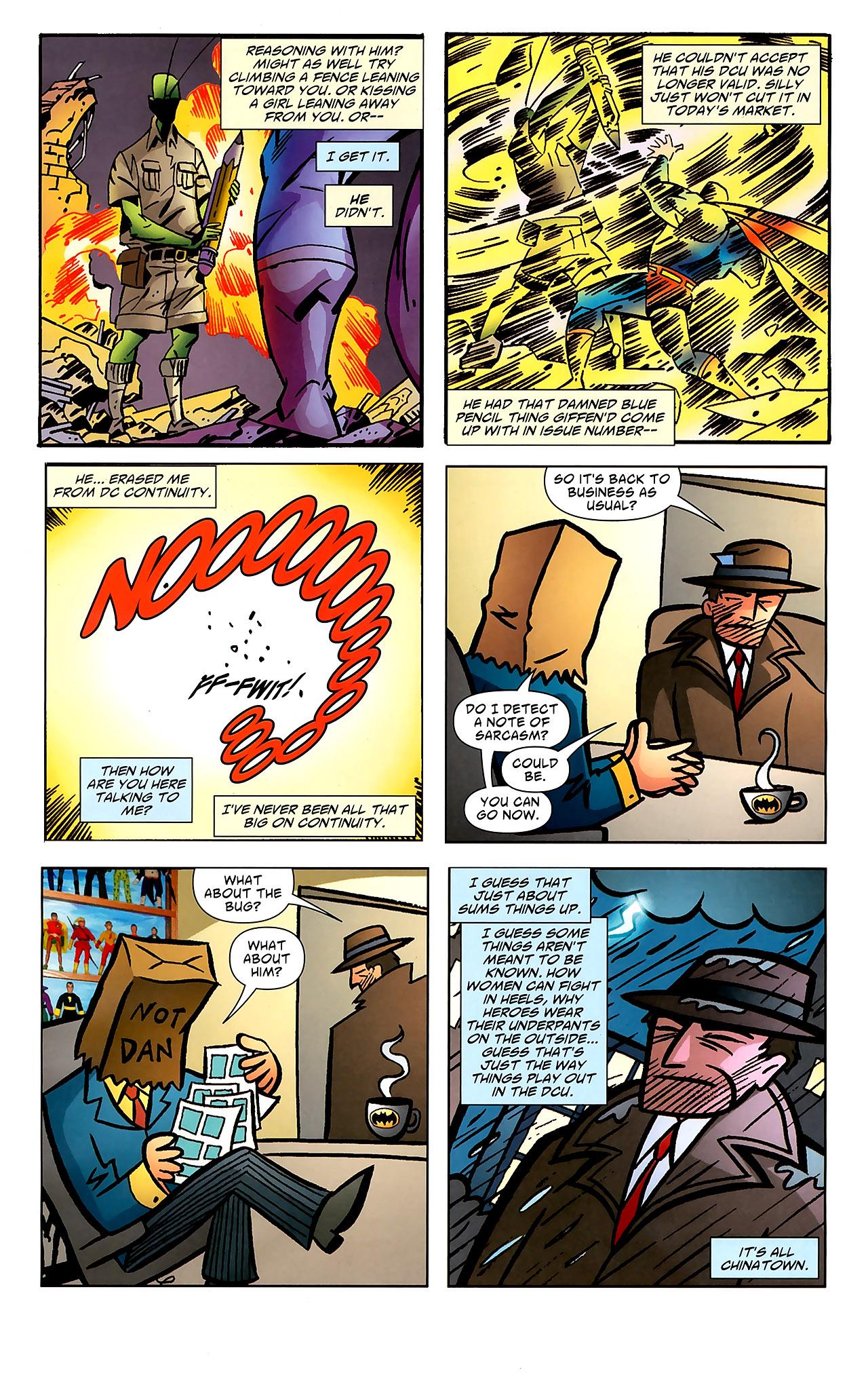 Read online Ambush Bug: Year None comic -  Issue #7 - 22