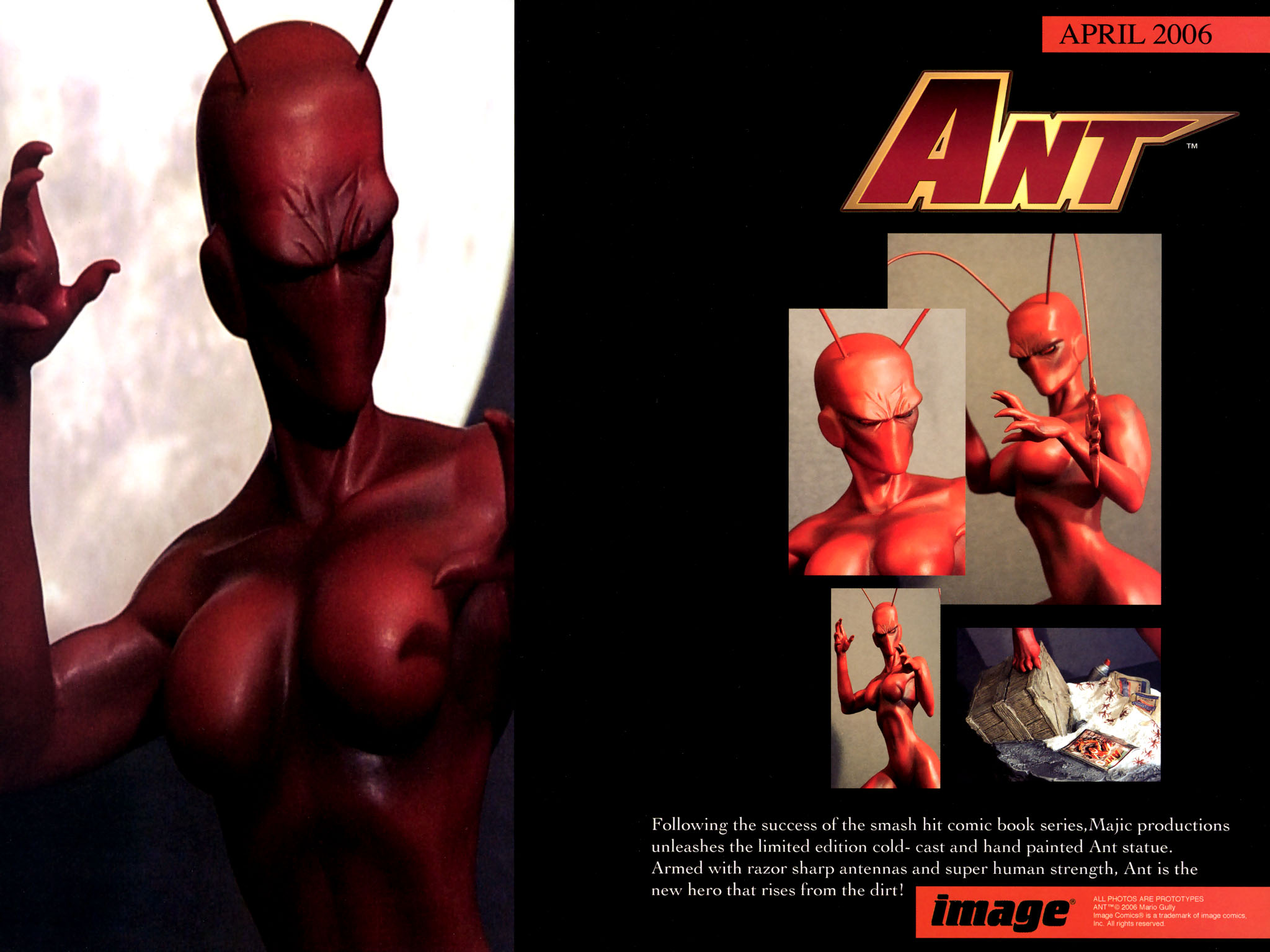 Read online Ant comic -  Issue #4 - 27