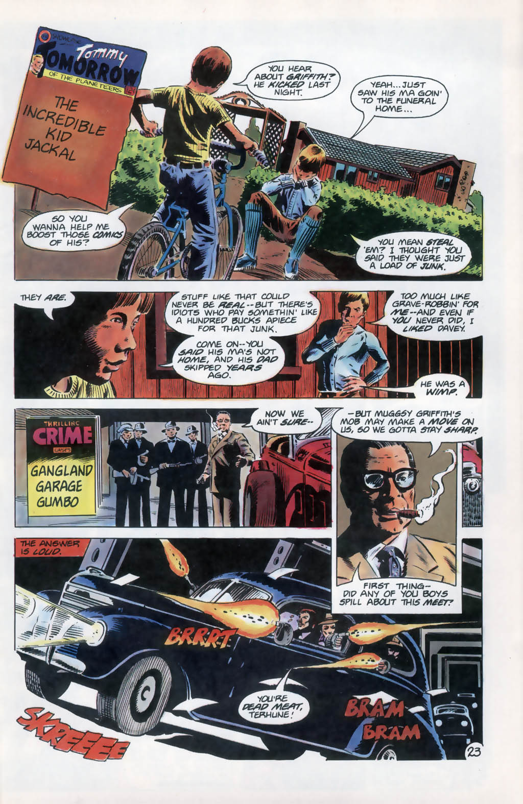 Read online Aztec Ace comic -  Issue #13 - 24