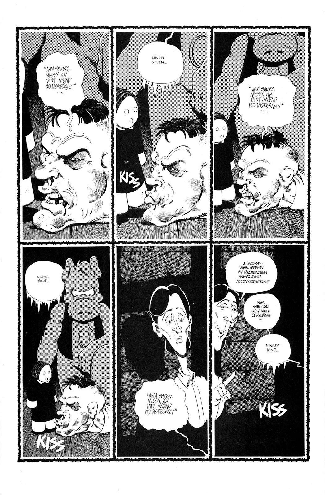 Cerebus Issue #165 #164 - English 6