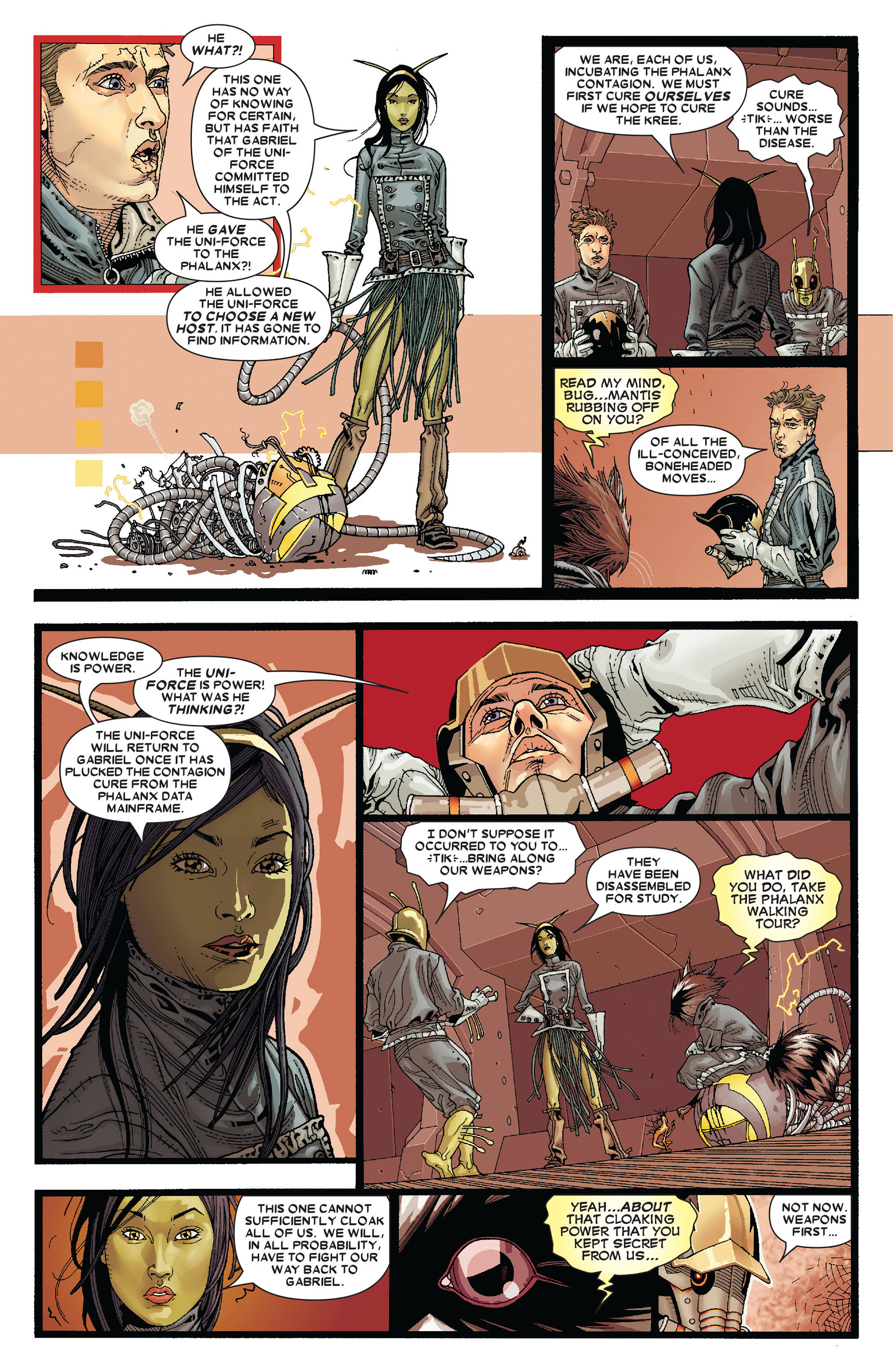 Read online Annihilation: Conquest - Starlord comic -  Issue #4 - 7